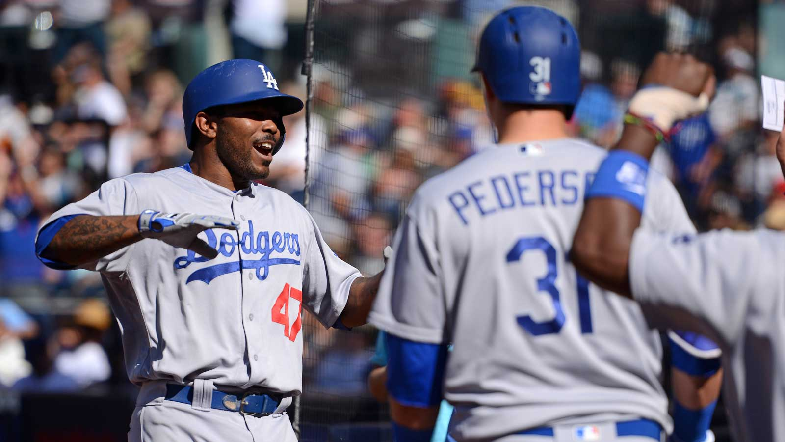 Rookie Perdomo tough-luck loser in 9-5 defeat to Dodgers