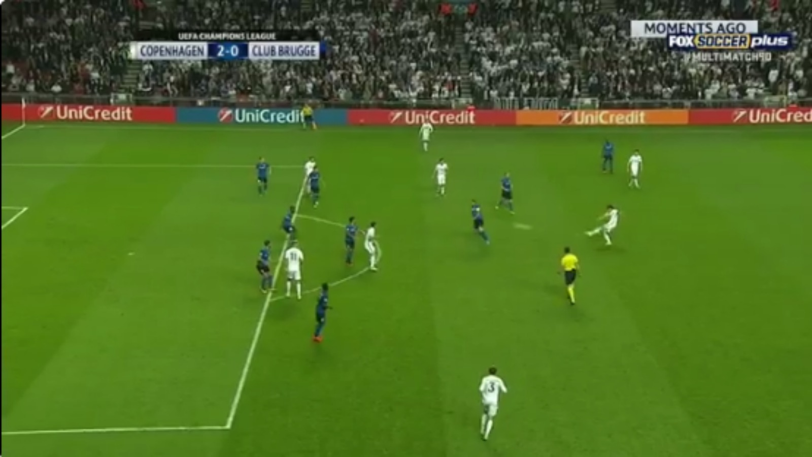 Watch Thomas Delaney stake his claim for Champions League goal of the season