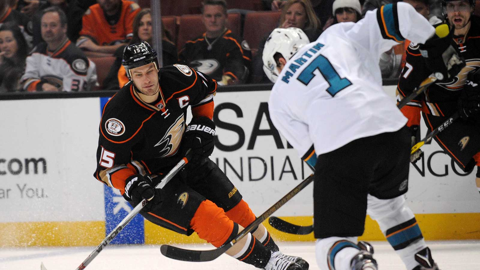 Sharks face Ducks in return home