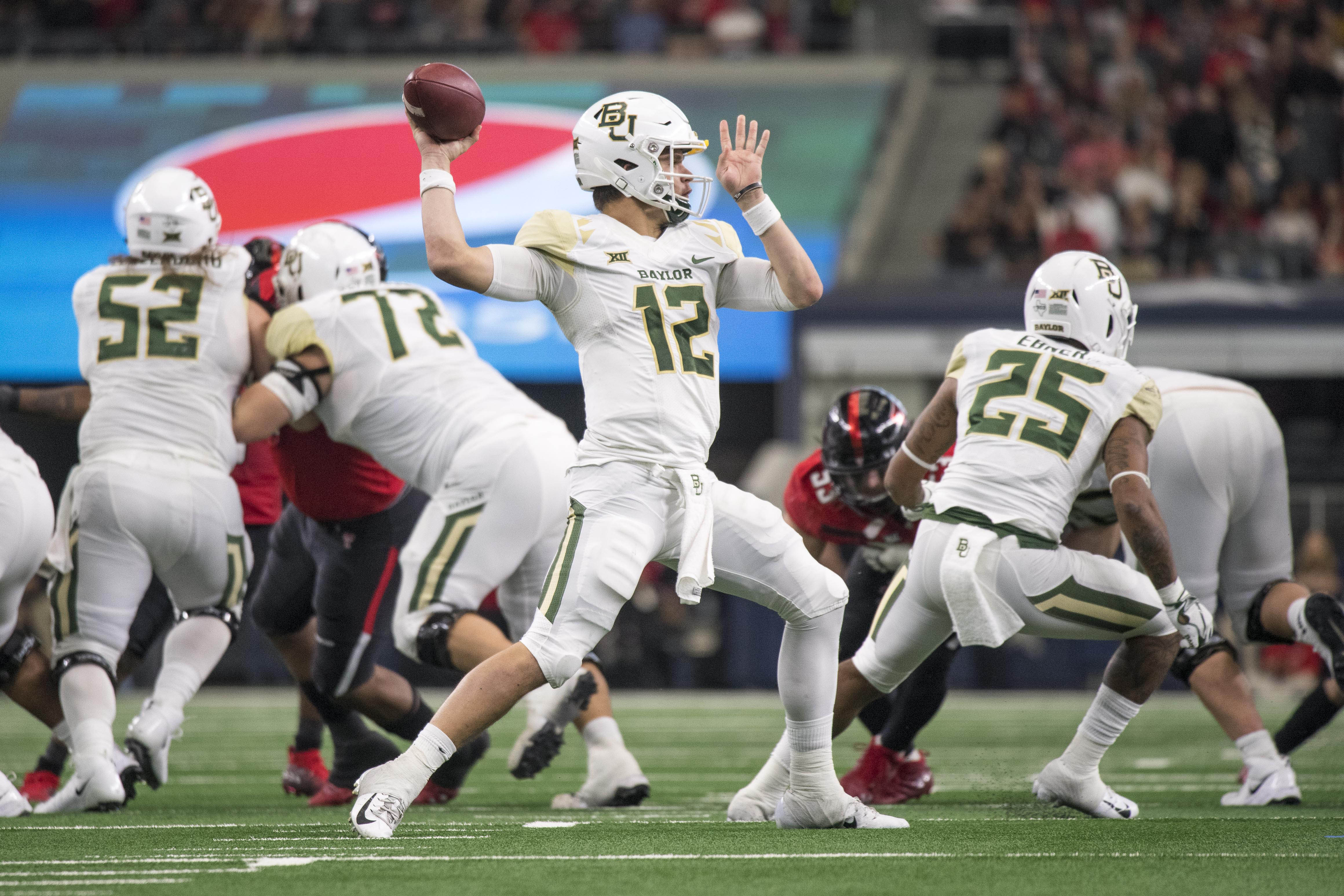 Brewer clear No. 1 QB after Baylor goes from 1 to 7 wins