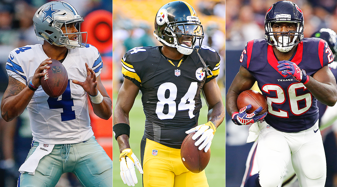 Daily fantasy picks: Who should you start in Week 1 of NFL season?