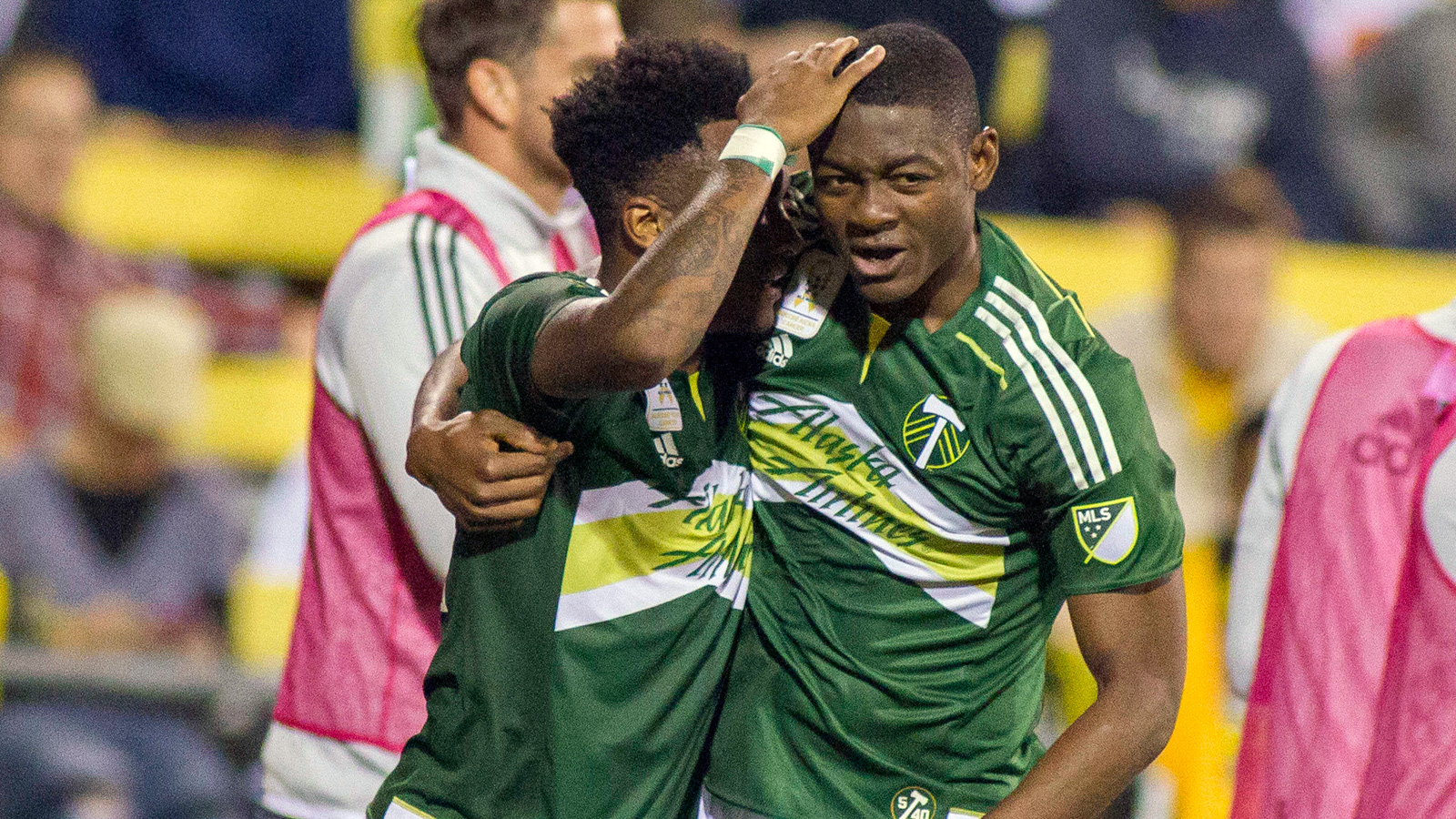 Adi double propels Portland to victory in Columbus