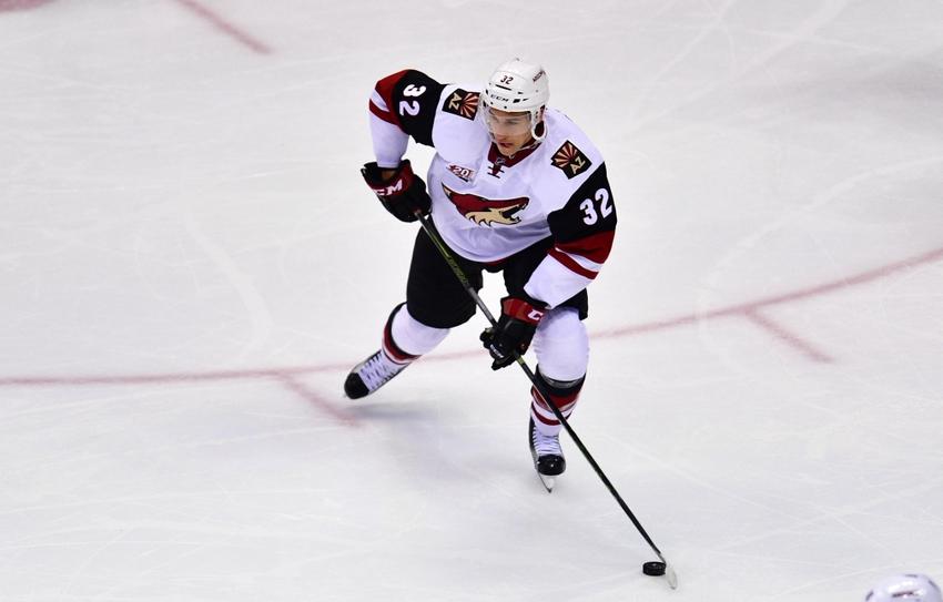 Arizona Coyotes Recall Tyler Gaudet From AHL Tucson
