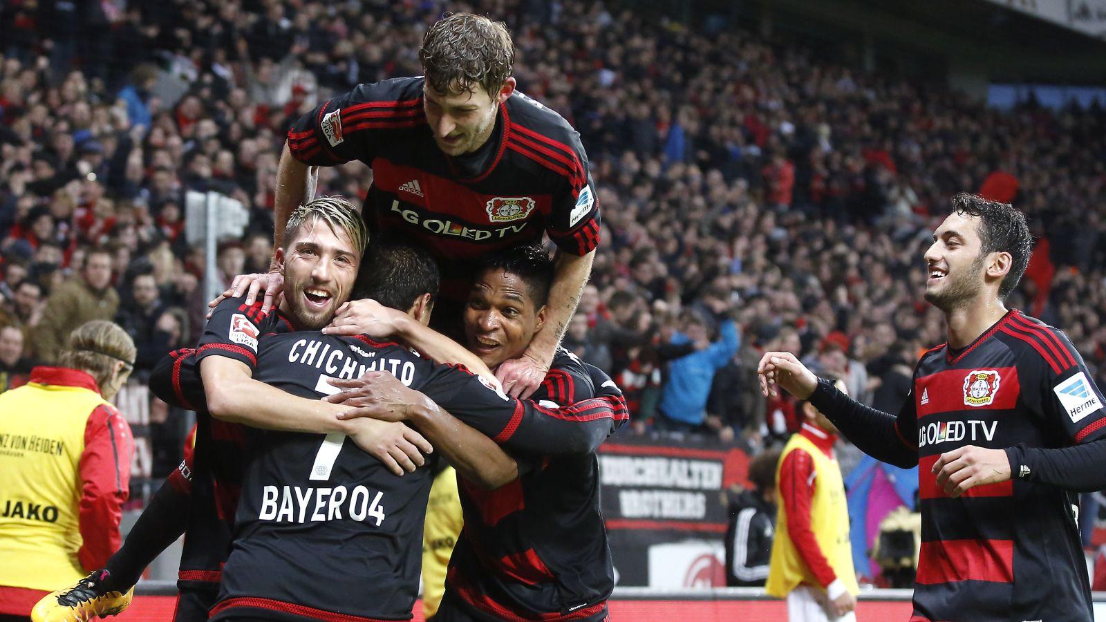Leverkusen jump to third after comfy win over Frankfurt