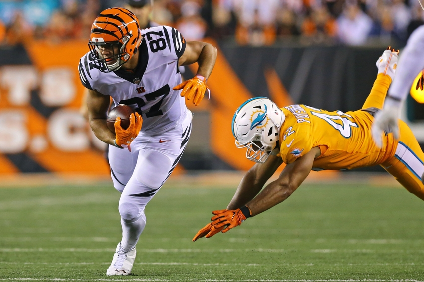 With Eifert out, C.J. Uzomah becomes X-Factor vs. Cowboys