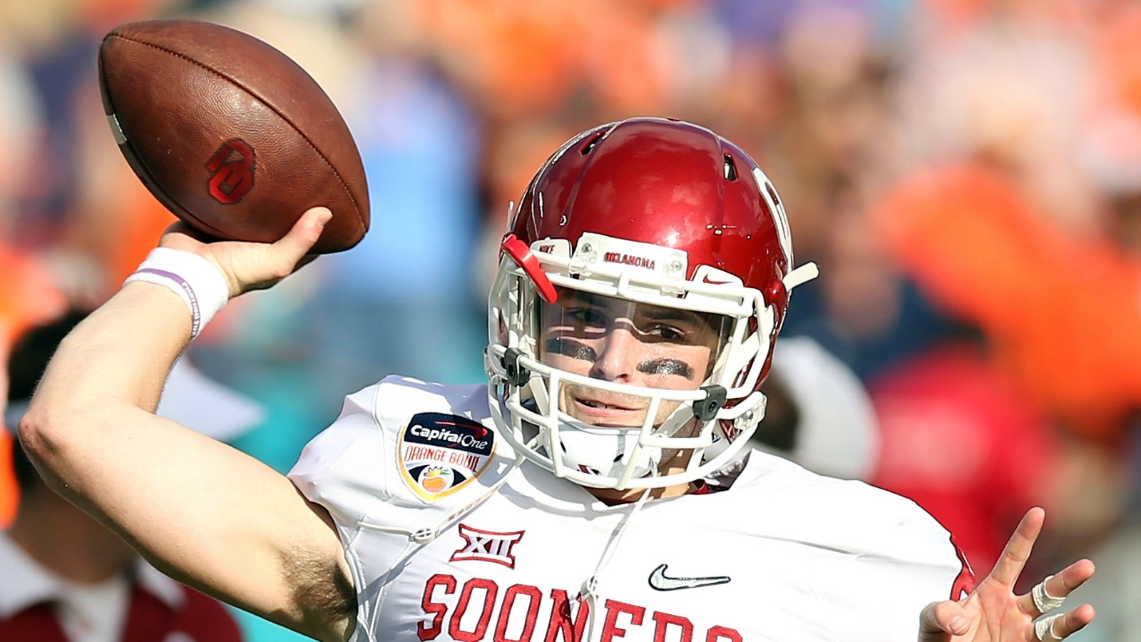The Sooners' loaded offense should thrive behind Baker Mayfield