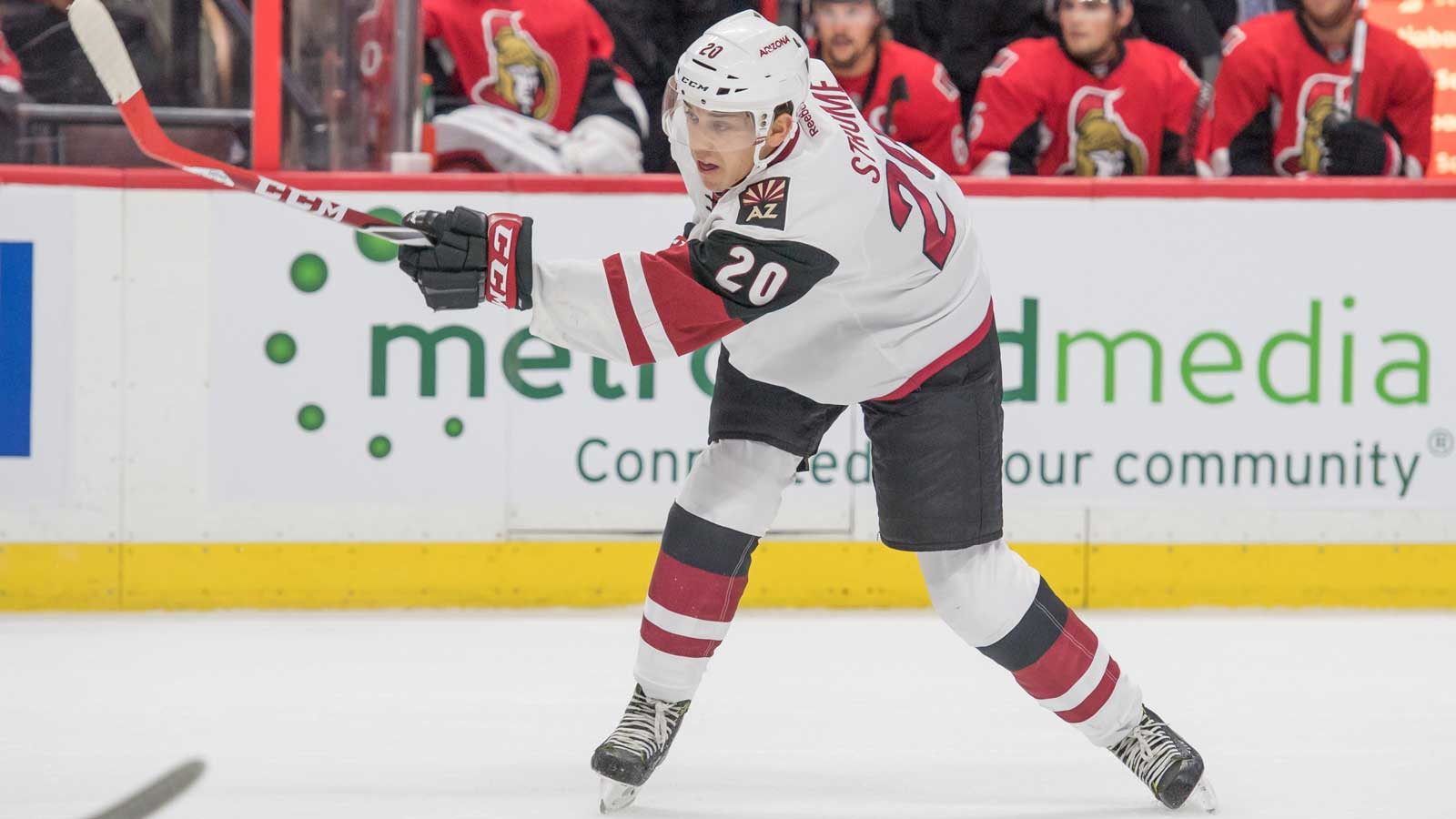 Coyotes call up center Dylan Strome from Tucson