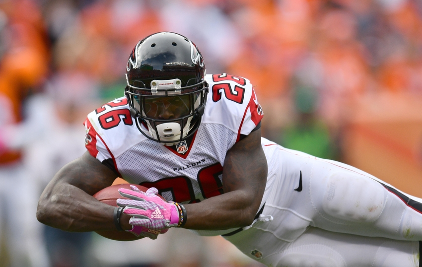 Featured Falcon Friday: Running Back Tevin Coleman