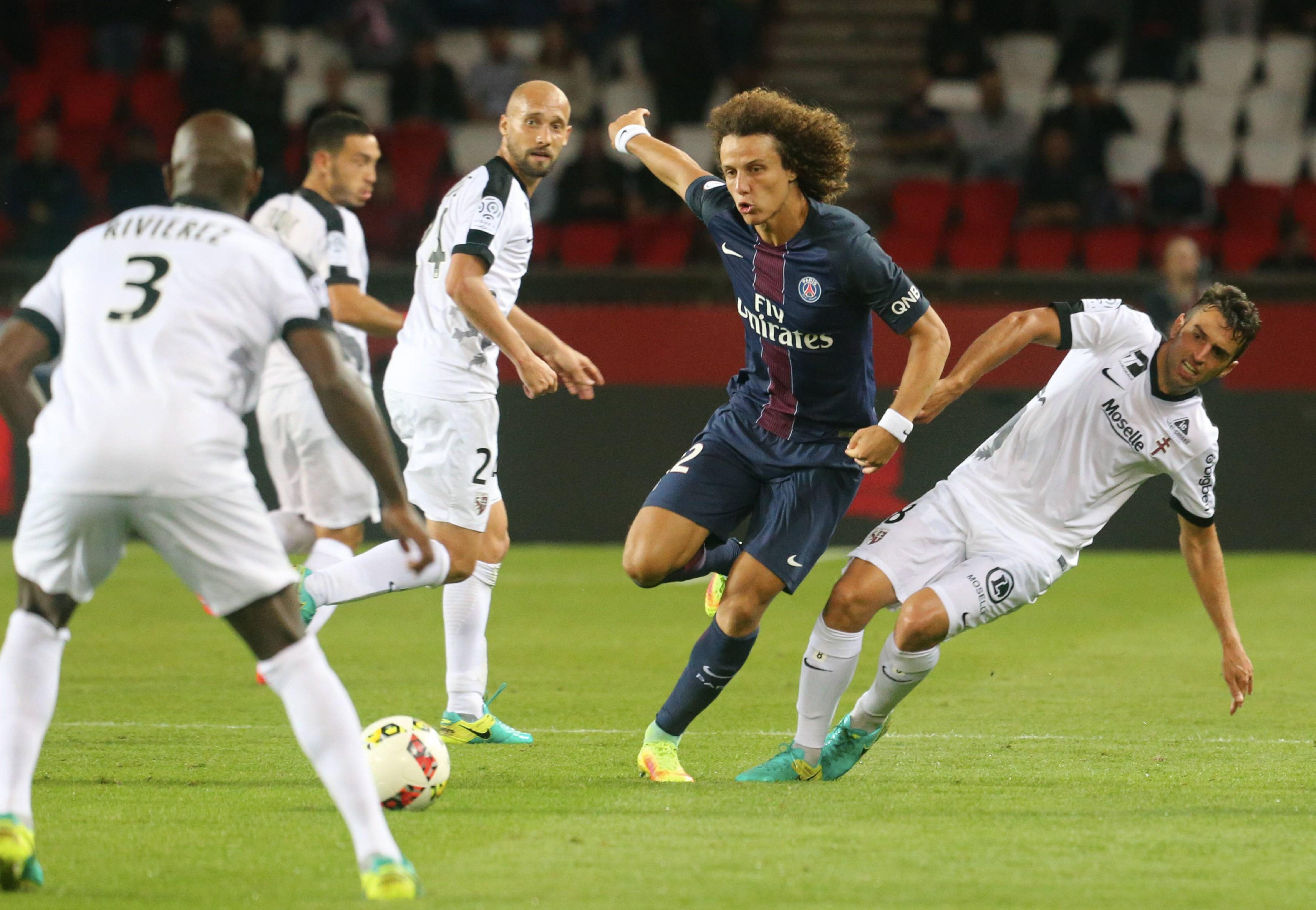 David Luiz: Another Chelsea signing in desperation