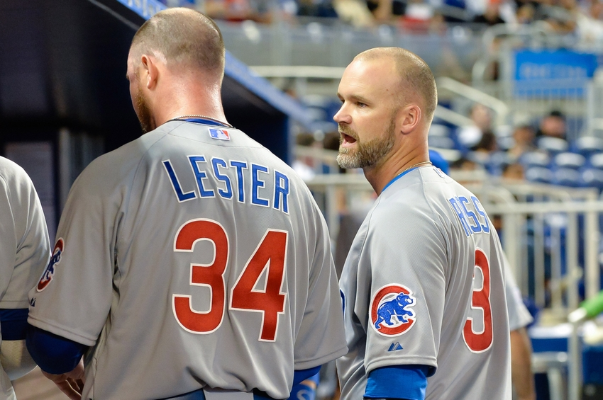 Chicago Cubs News: Lester's new catcher; Heyward already at work