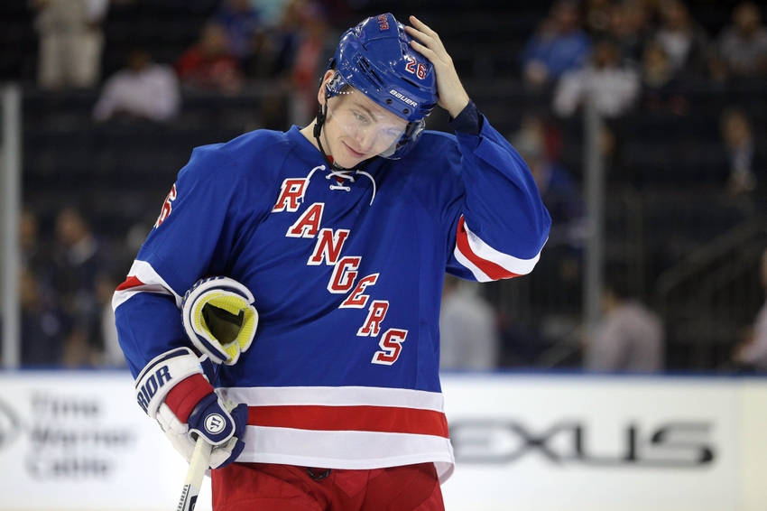 New York Rangers success dependent on Jimmy Vesey's ice time