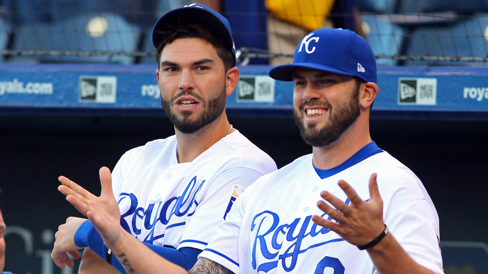 Moustakas on facing Hosmer: 'It's just weird seeing him over there'