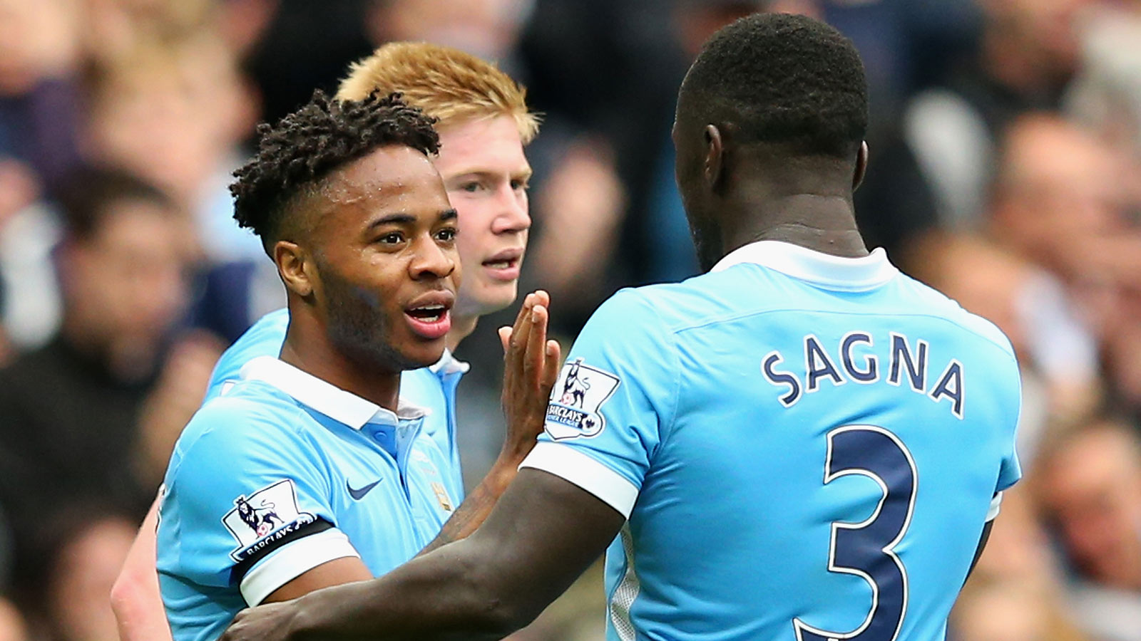 Sterling hat-trick inspires Man City; Chelsea bounce back