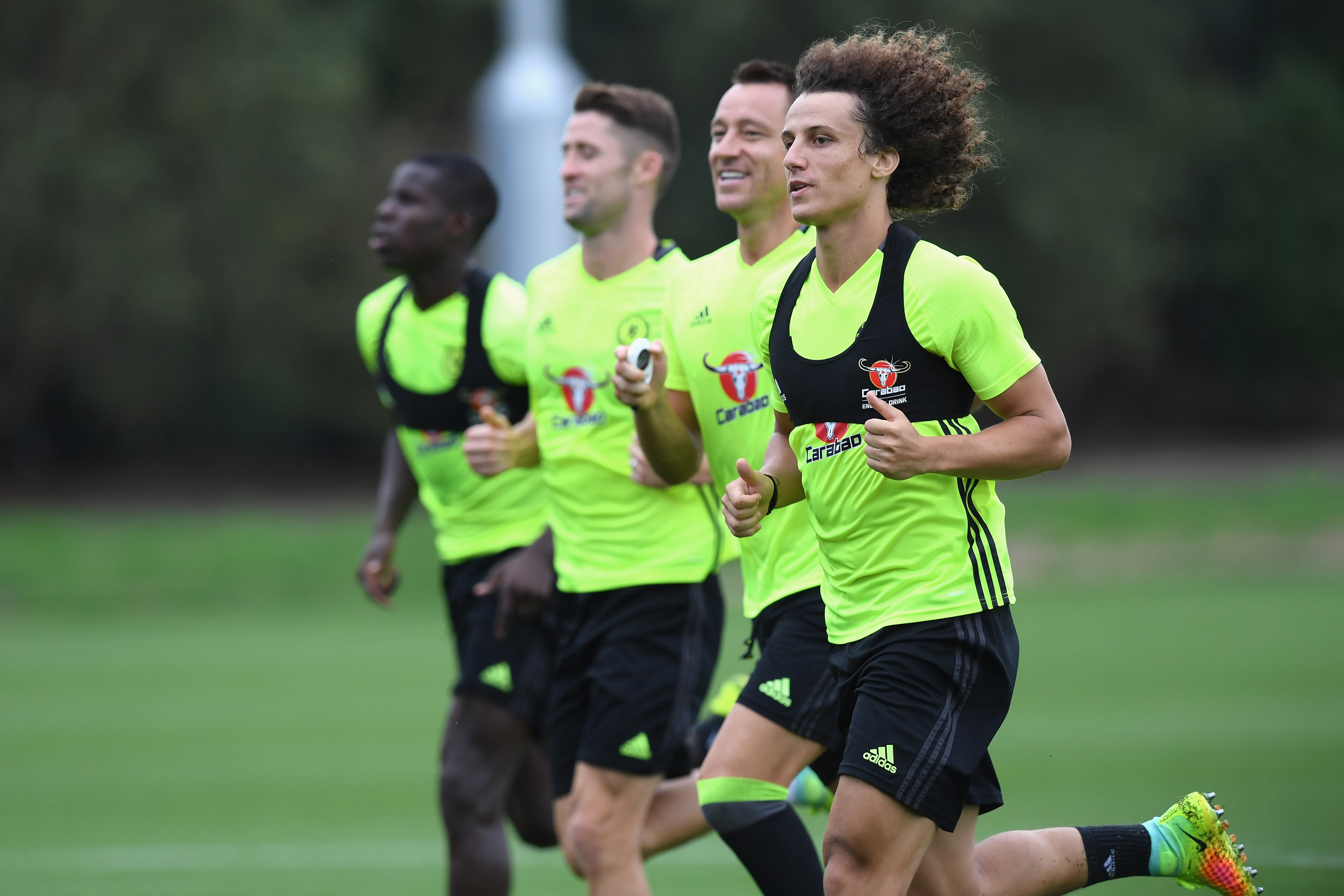 Chelsea boss Antonio Conte signals the start of the David Luiz Experience, Part Deux