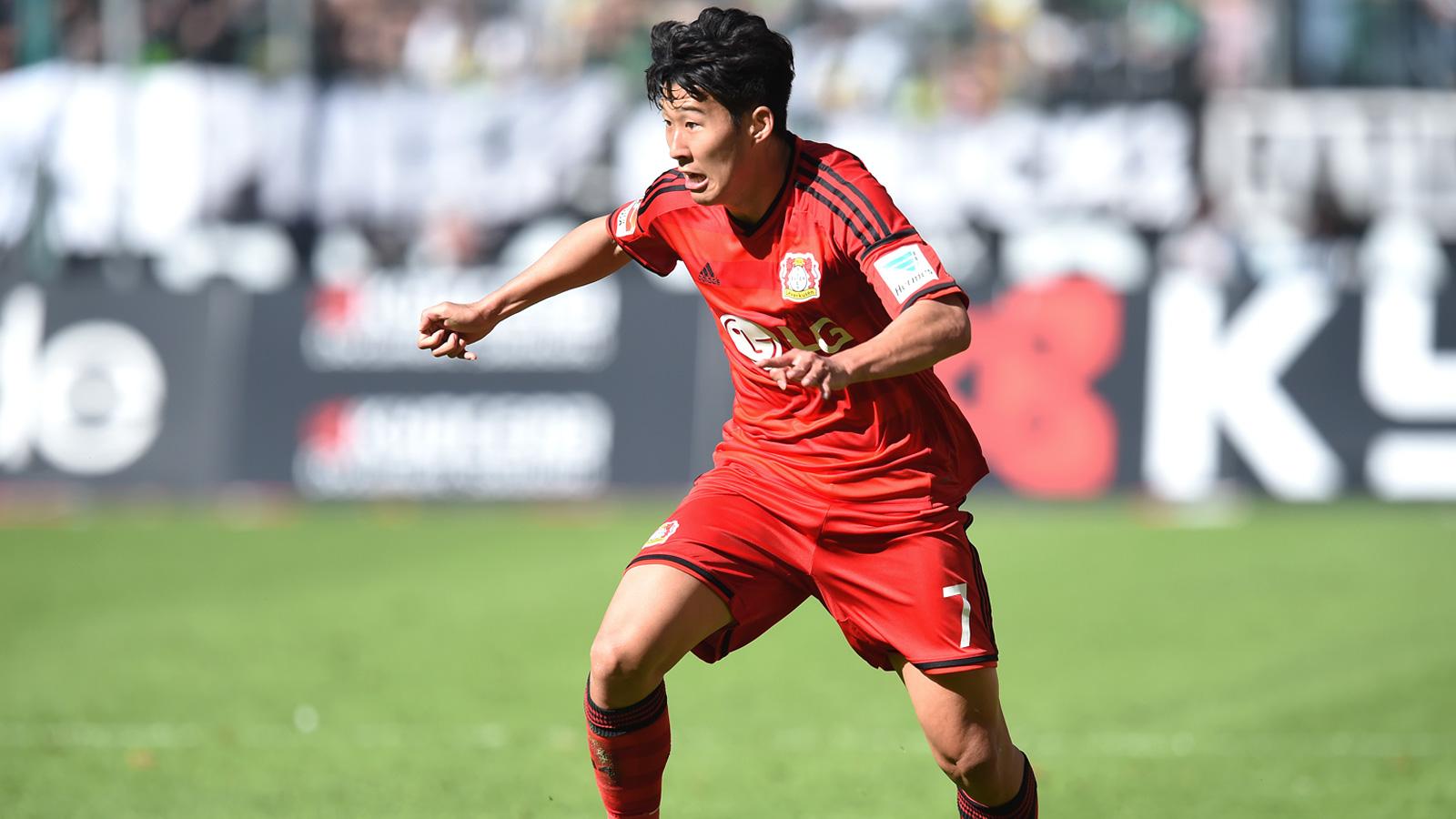 Leverkusen's Son joins Tottenham on five-year contract