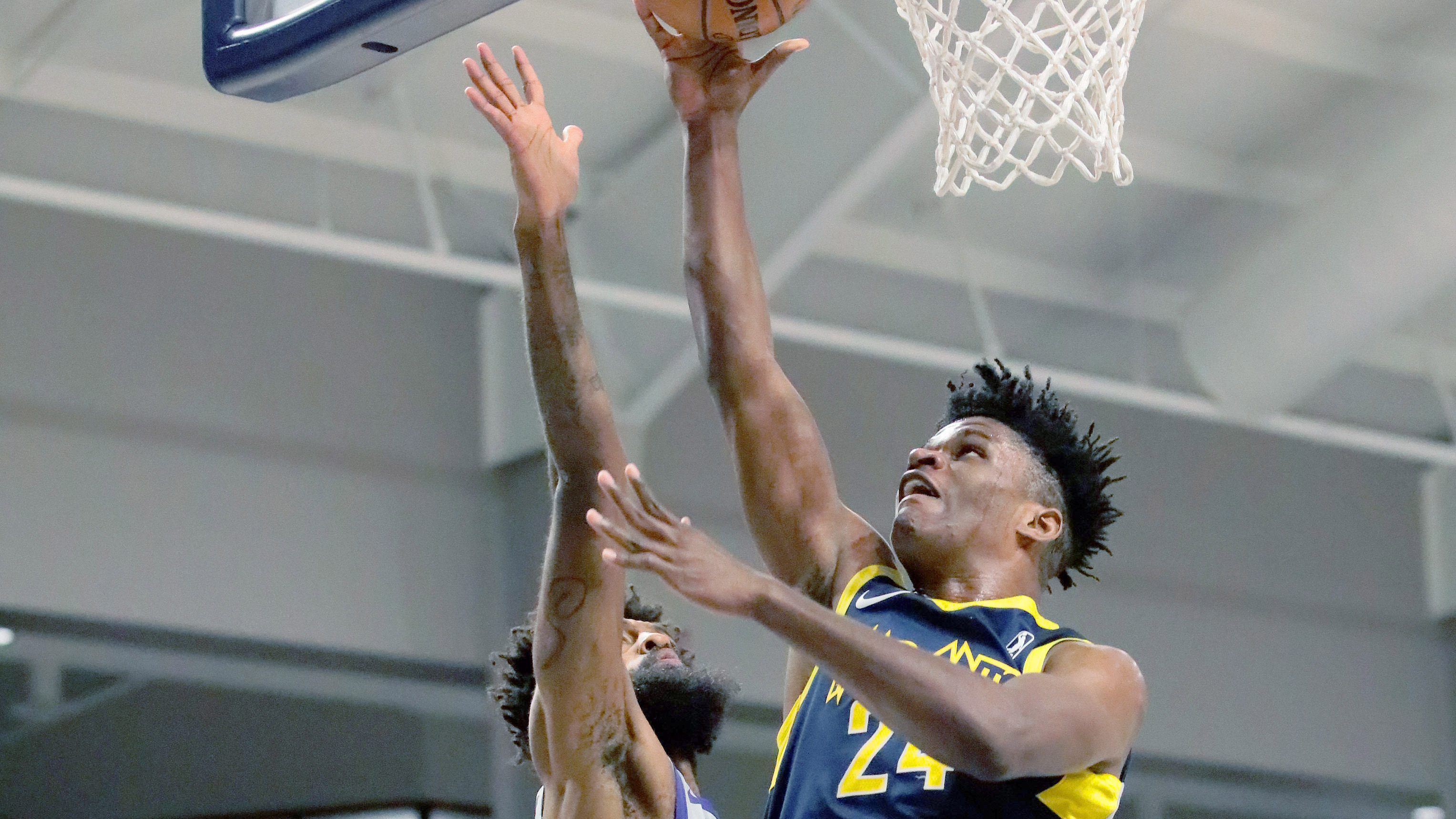 Pacers recall Alize Johnson from Fort Wayne