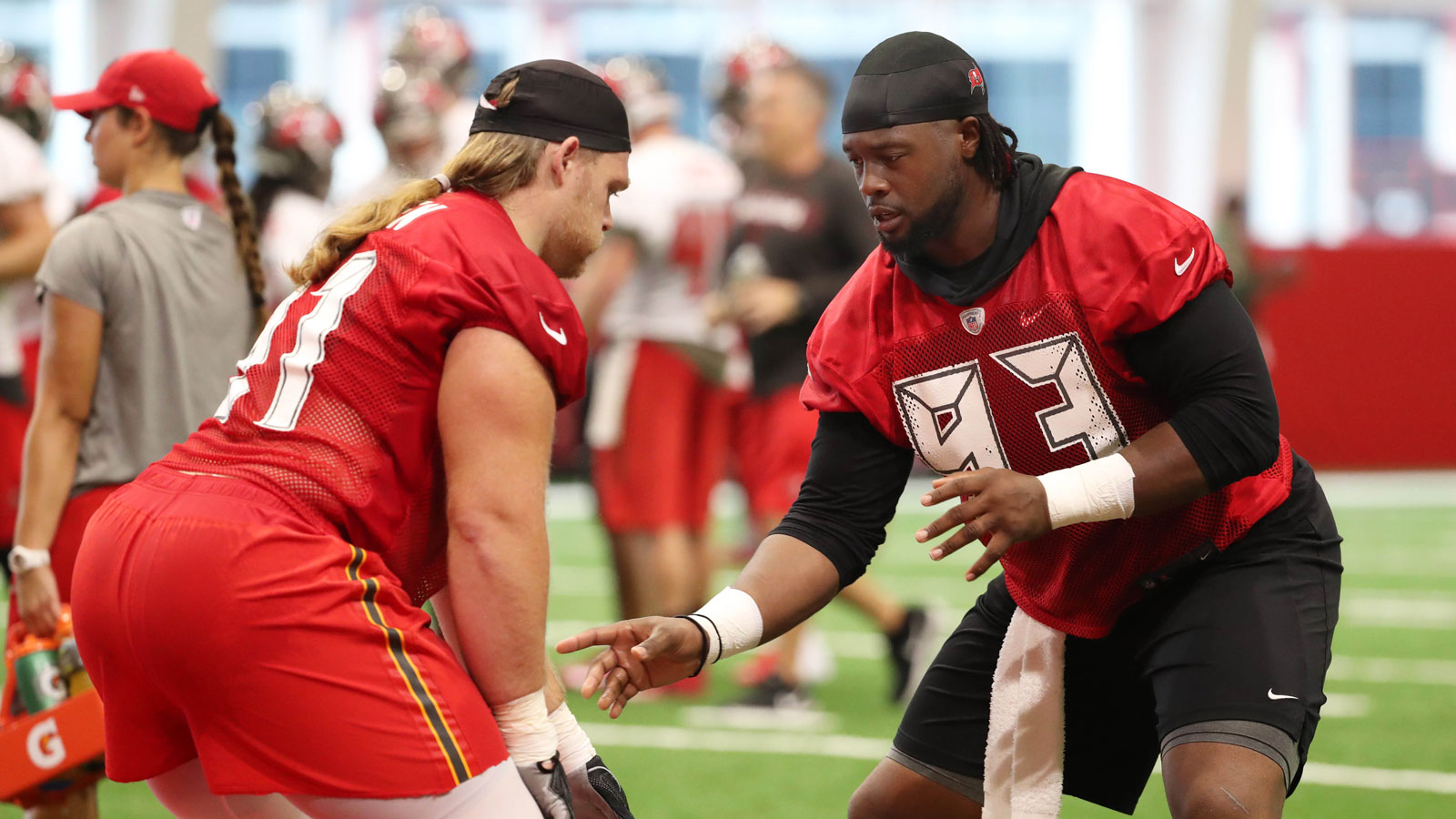 Pro Bowl DT Gerald McCoy in humble mindset at training camp, energized by Bucs' bolstered defense