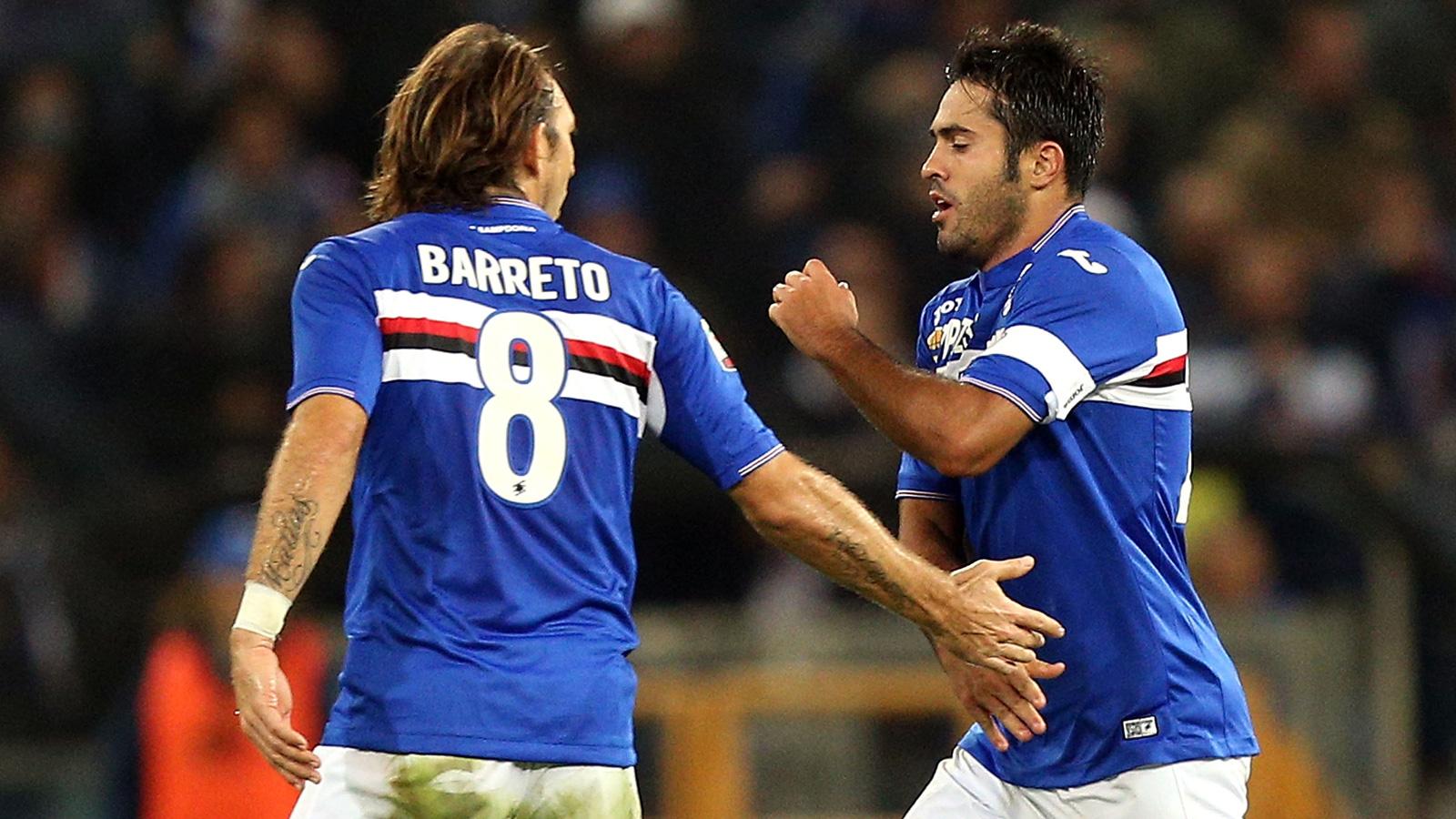 Sampdoria stay unbeaten at home with draw vs. Empoli