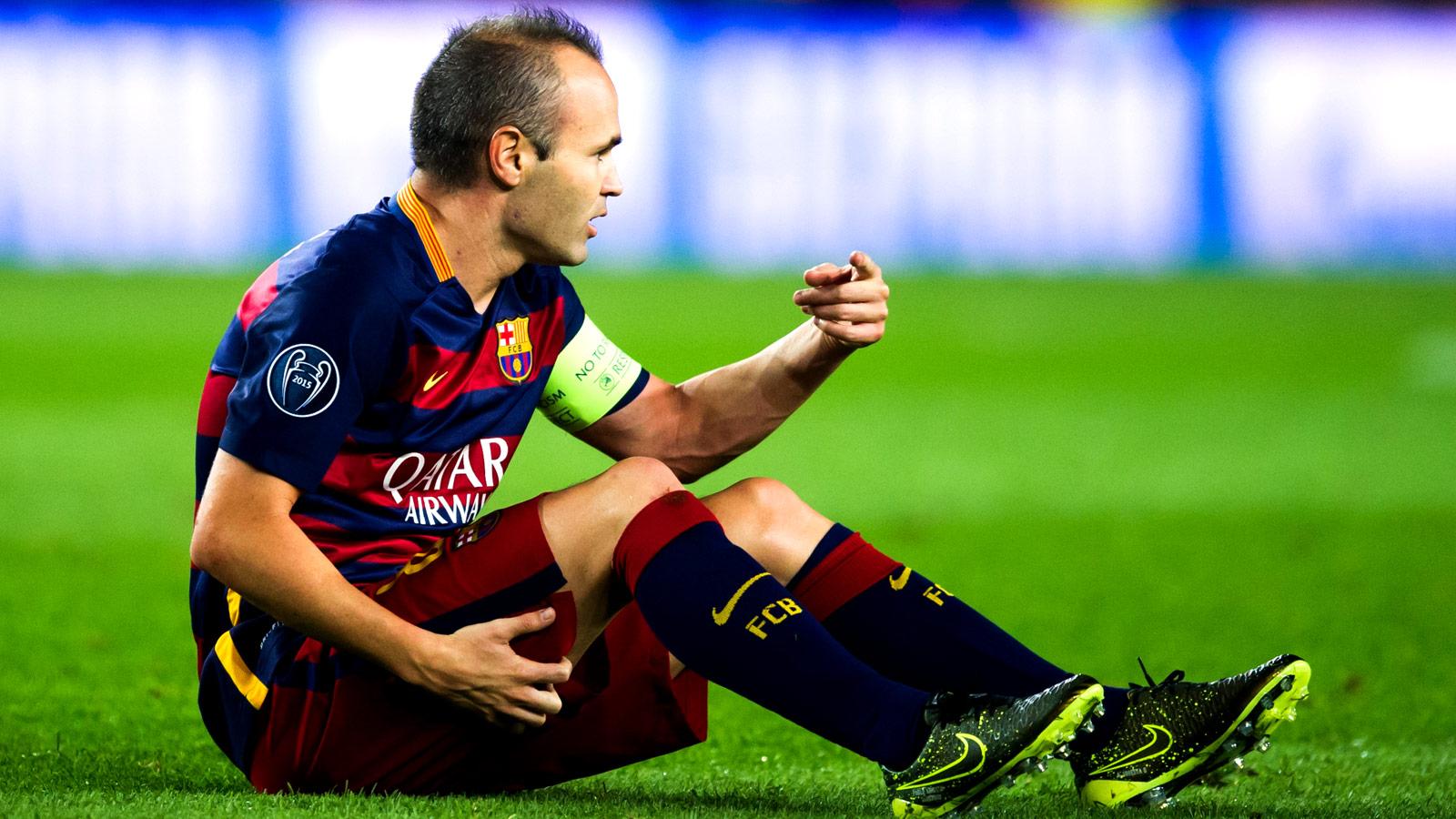 Barcelona captain Andres Iniesta set to return against Eibar