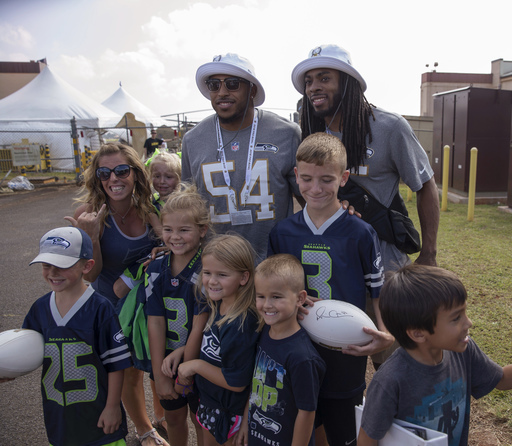 Seahawks QB Russell Wilson picked 1st in Pro Bowl Draft