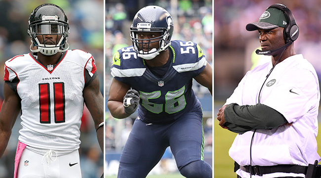 Short-Handed Pack Against Julio Jones, the Underrated Cliff Avril and a Glitch in the Jets D
