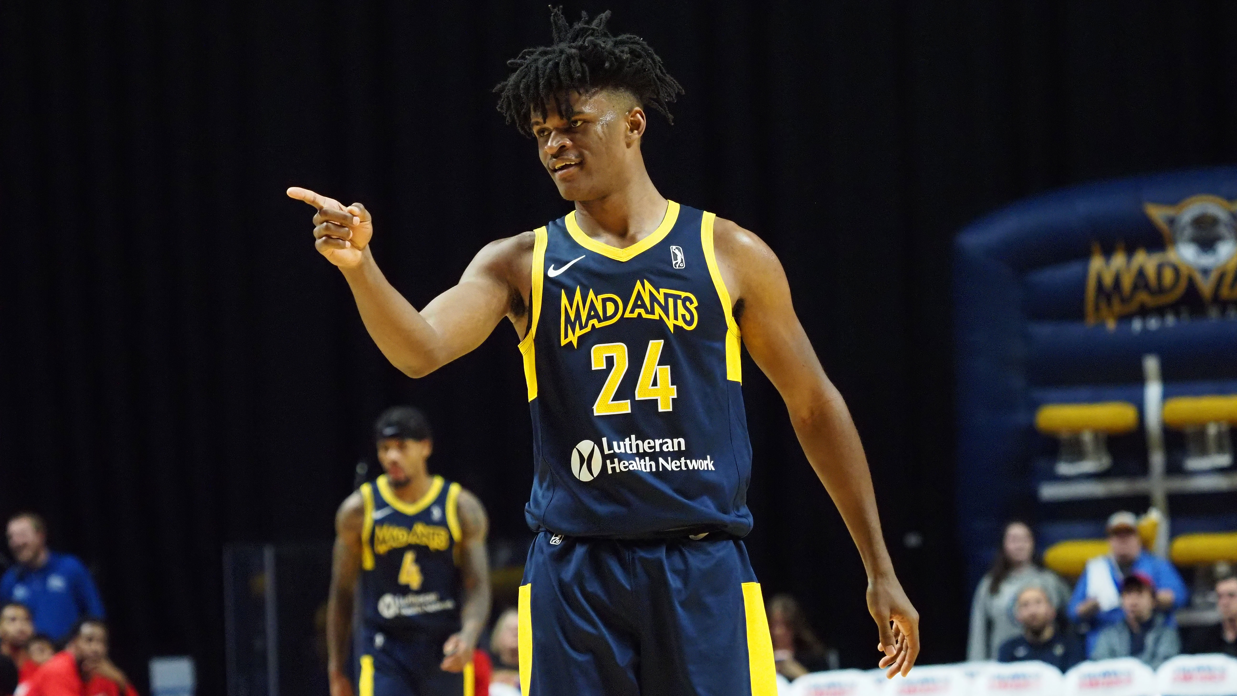 Pacers assign Alize Johnson to Fort Wayne