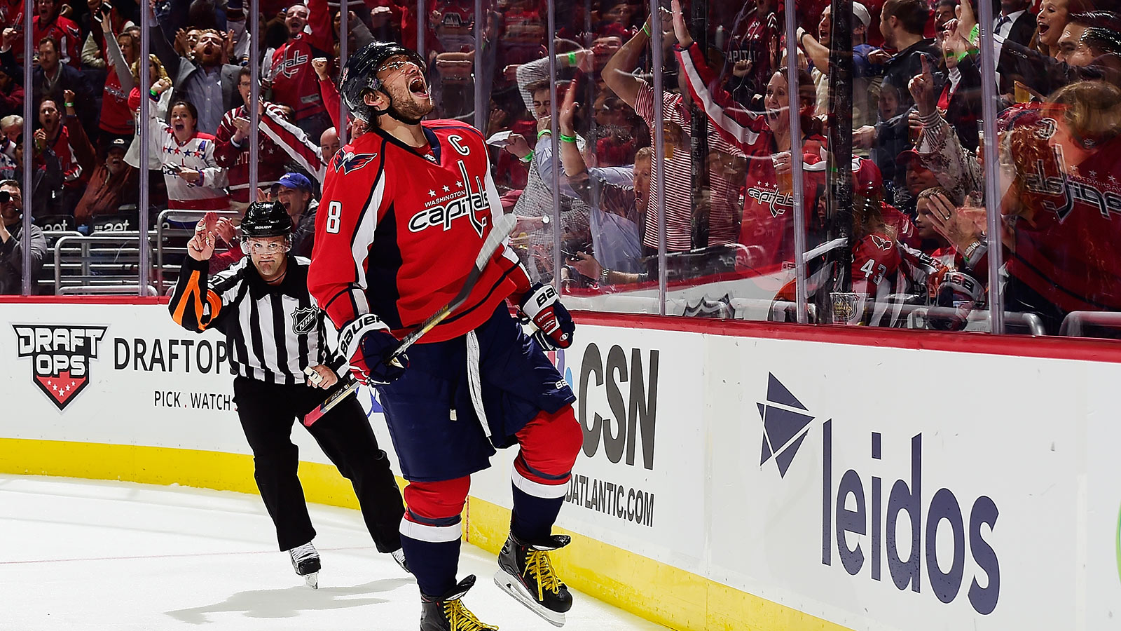 Ovechkin's team mates and coach in awe of his latest accomplishment