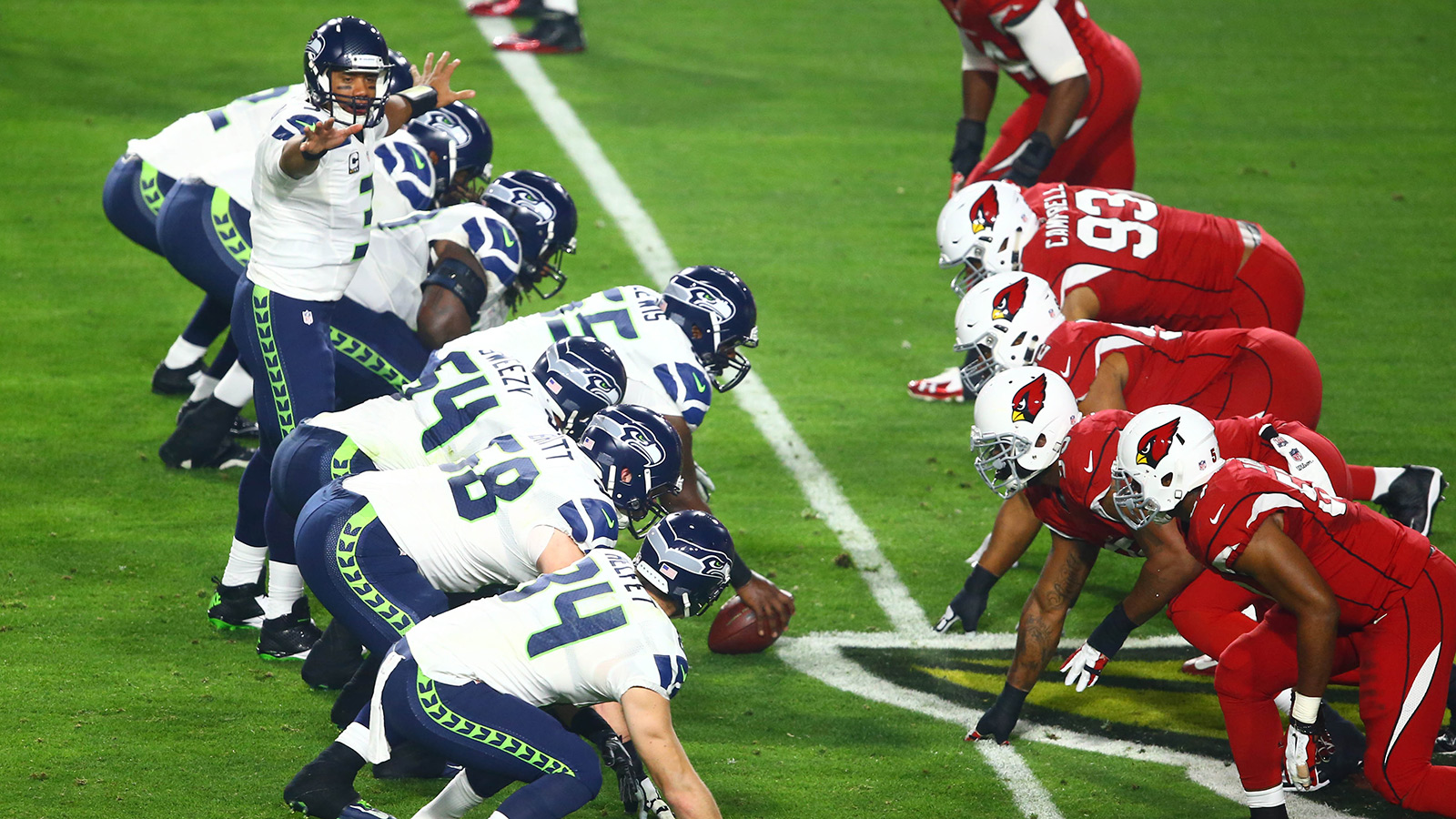 Cardinals, Seahawks again clear favorites in NFC West