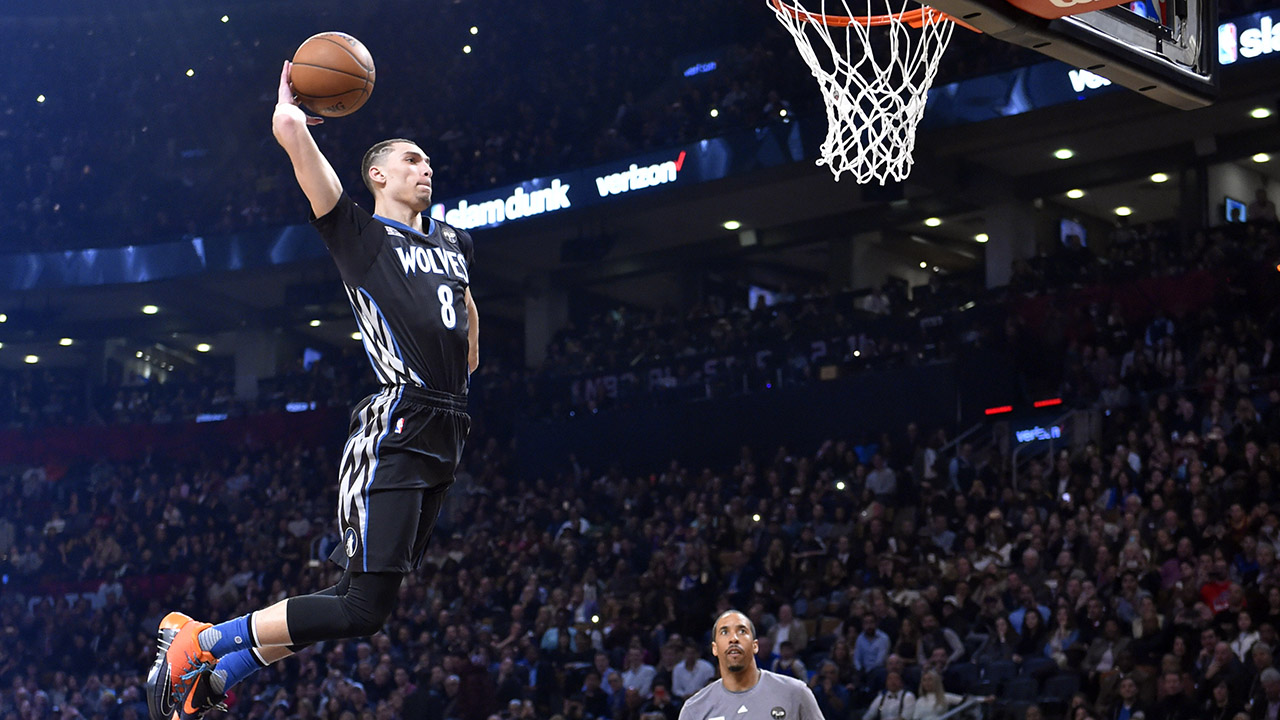 Zach LaVine opts out of third Slam Dunk Contest