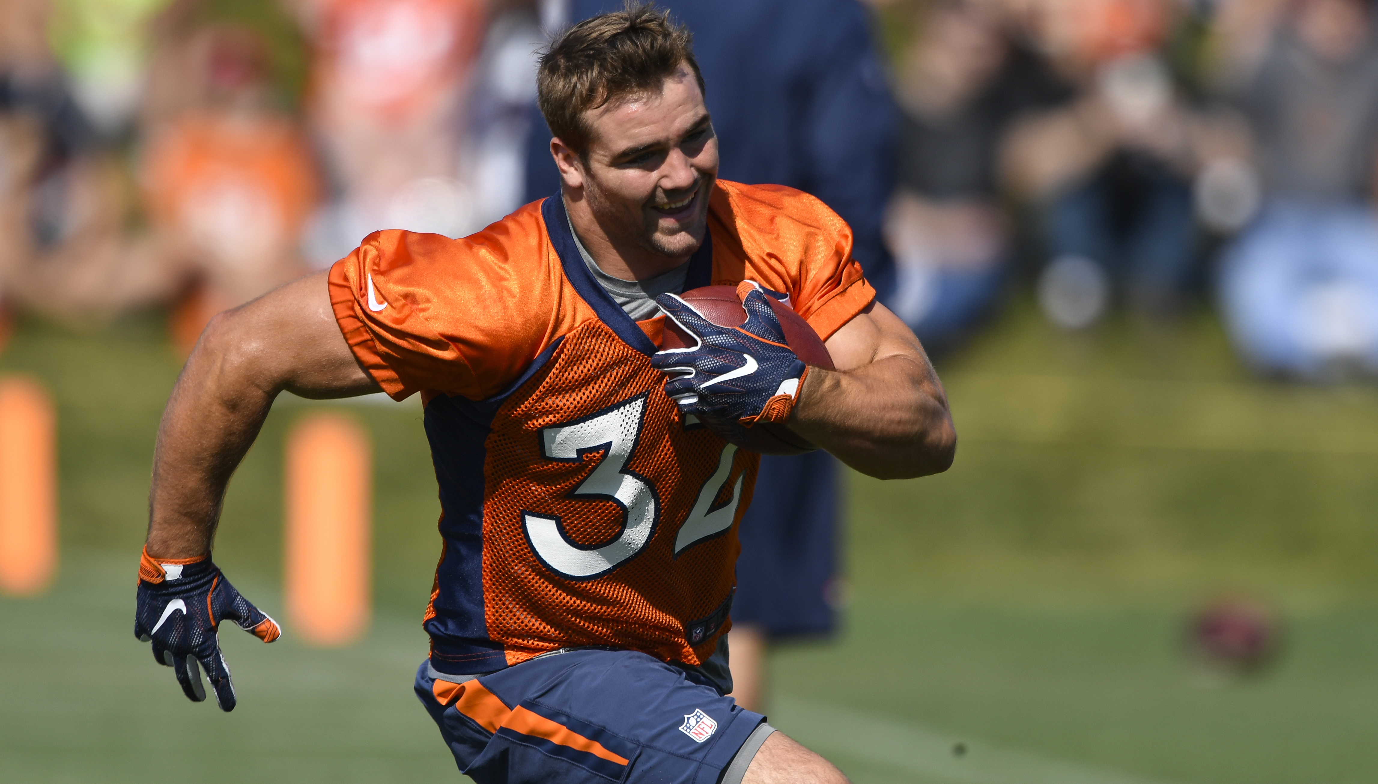 Rookie FB Andy Janovich scores Broncos' first touchdown of the 2016 NFL season