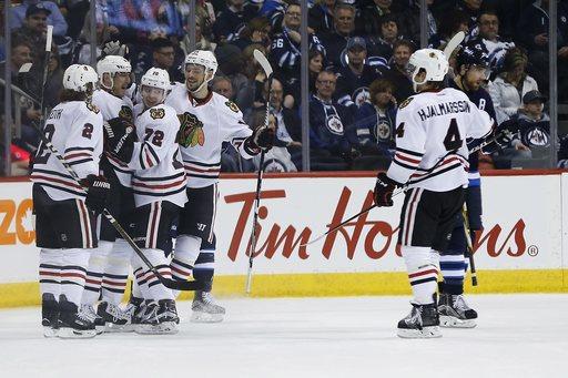 Ex-Jet Ladd scores against former team as Blackhawks snap 4-game slide