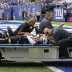 Saints CB P.J. Williams has a concussion, expected to be 'fine' after being carted off