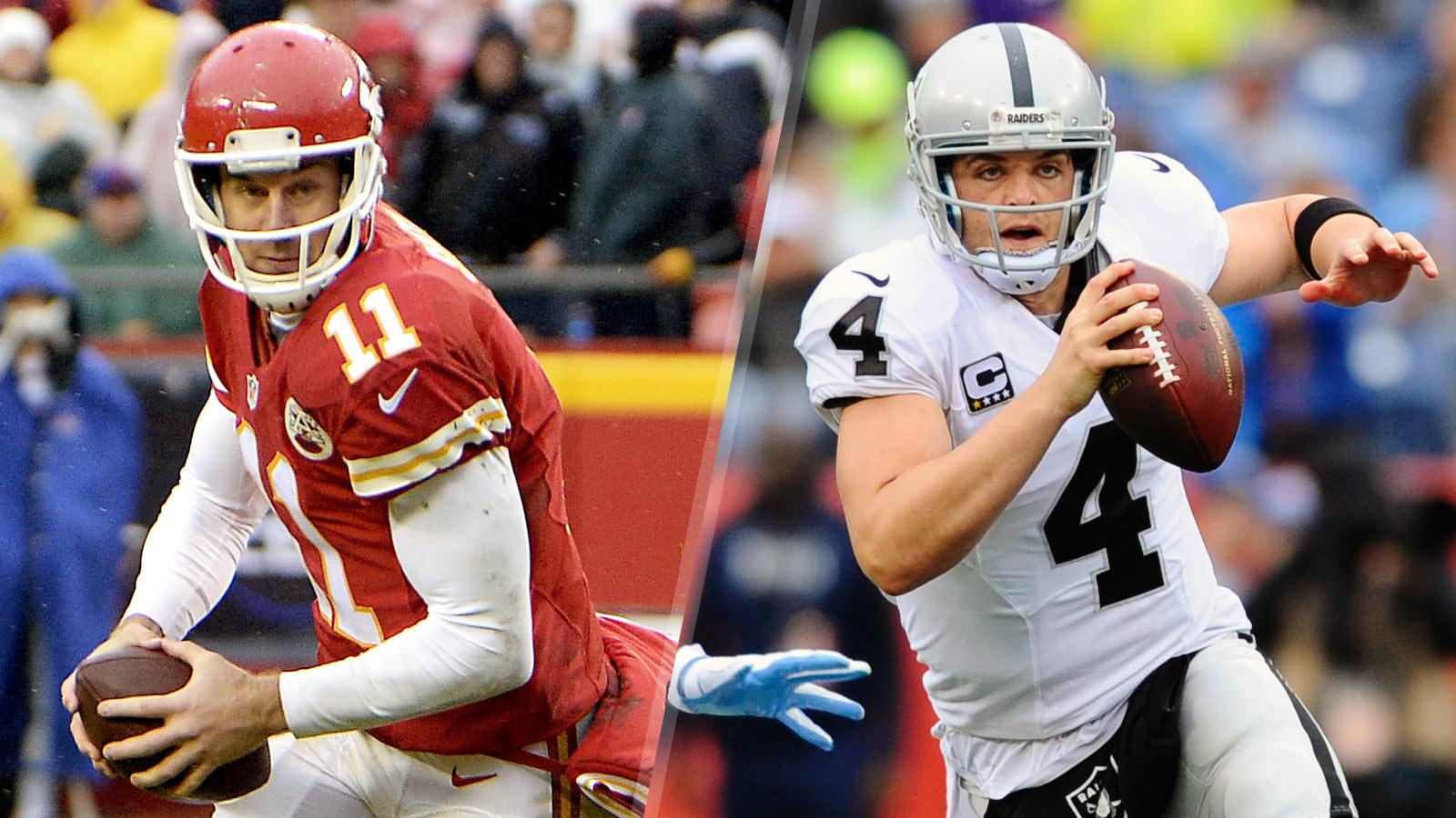 Six Points: Chiefs vs. Raiders