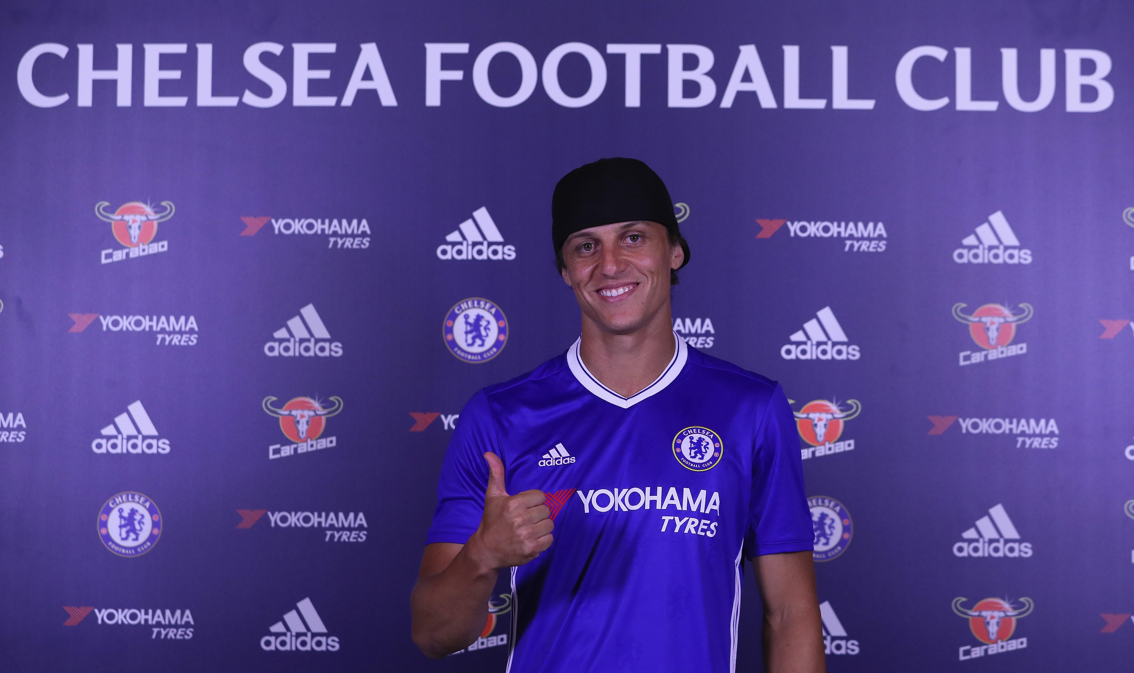 He's back! Relive David Luiz's best 7 Chelsea FC goals