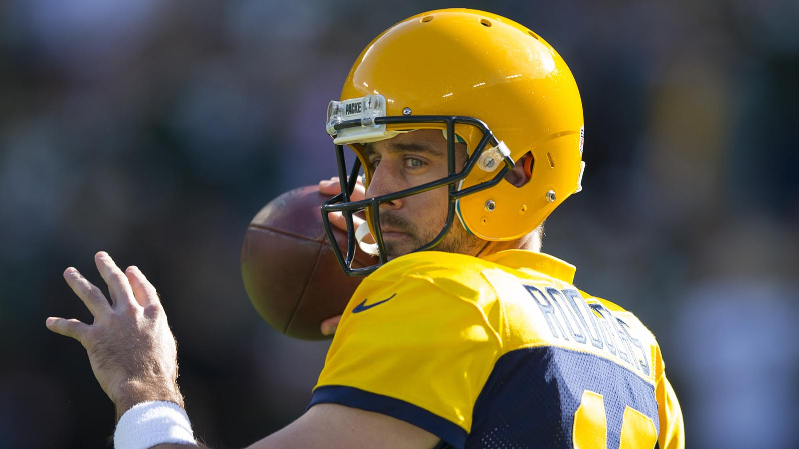 Packers quarterback Rodgers focusing on accuracy