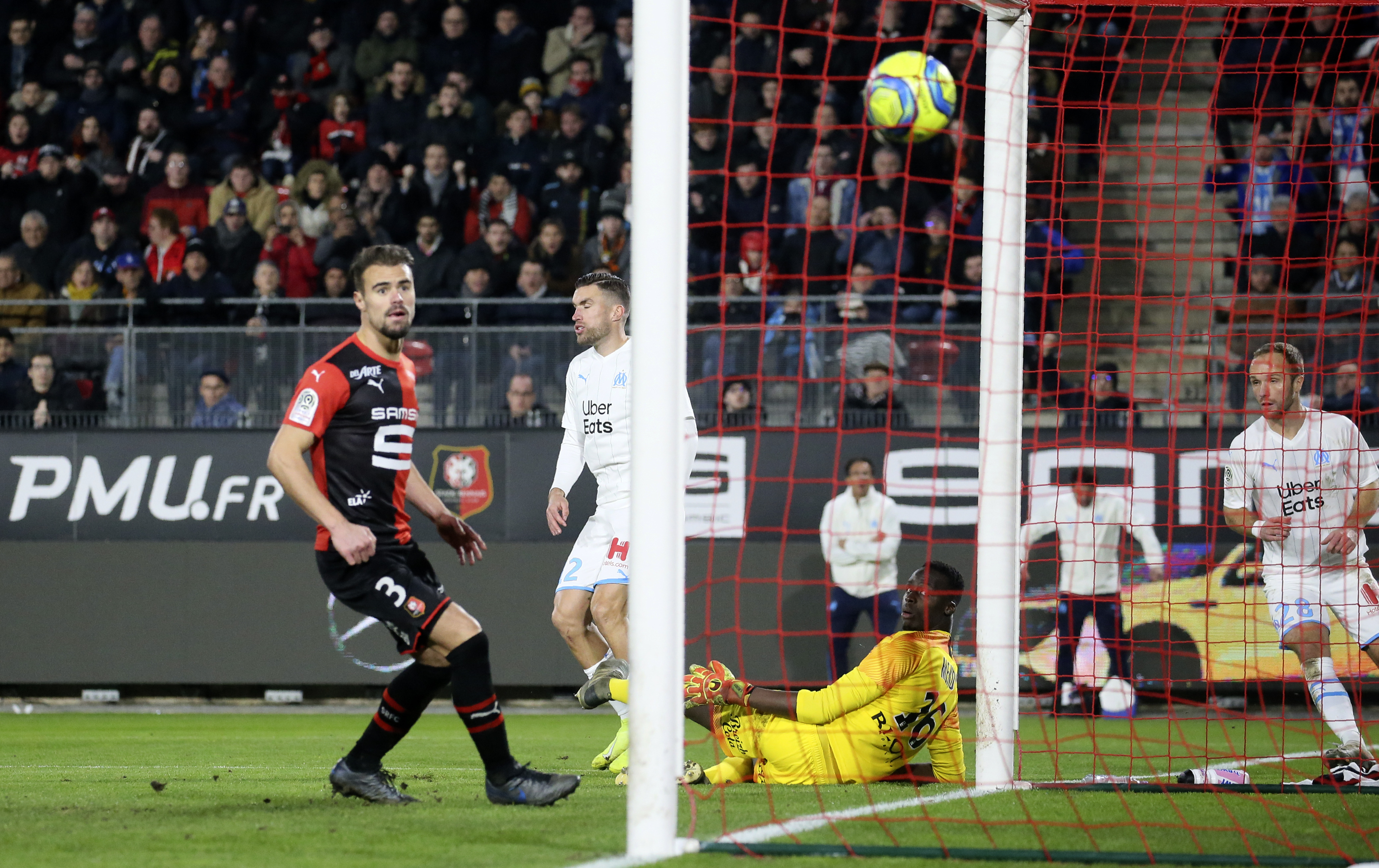 Strootman scores late winner as Marseille wins 1-0 at Rennes