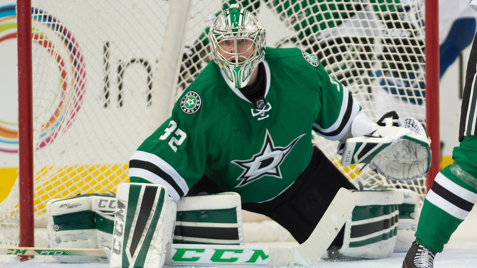 Stars' Lehtonen out with injury; prospect to back up Niemi