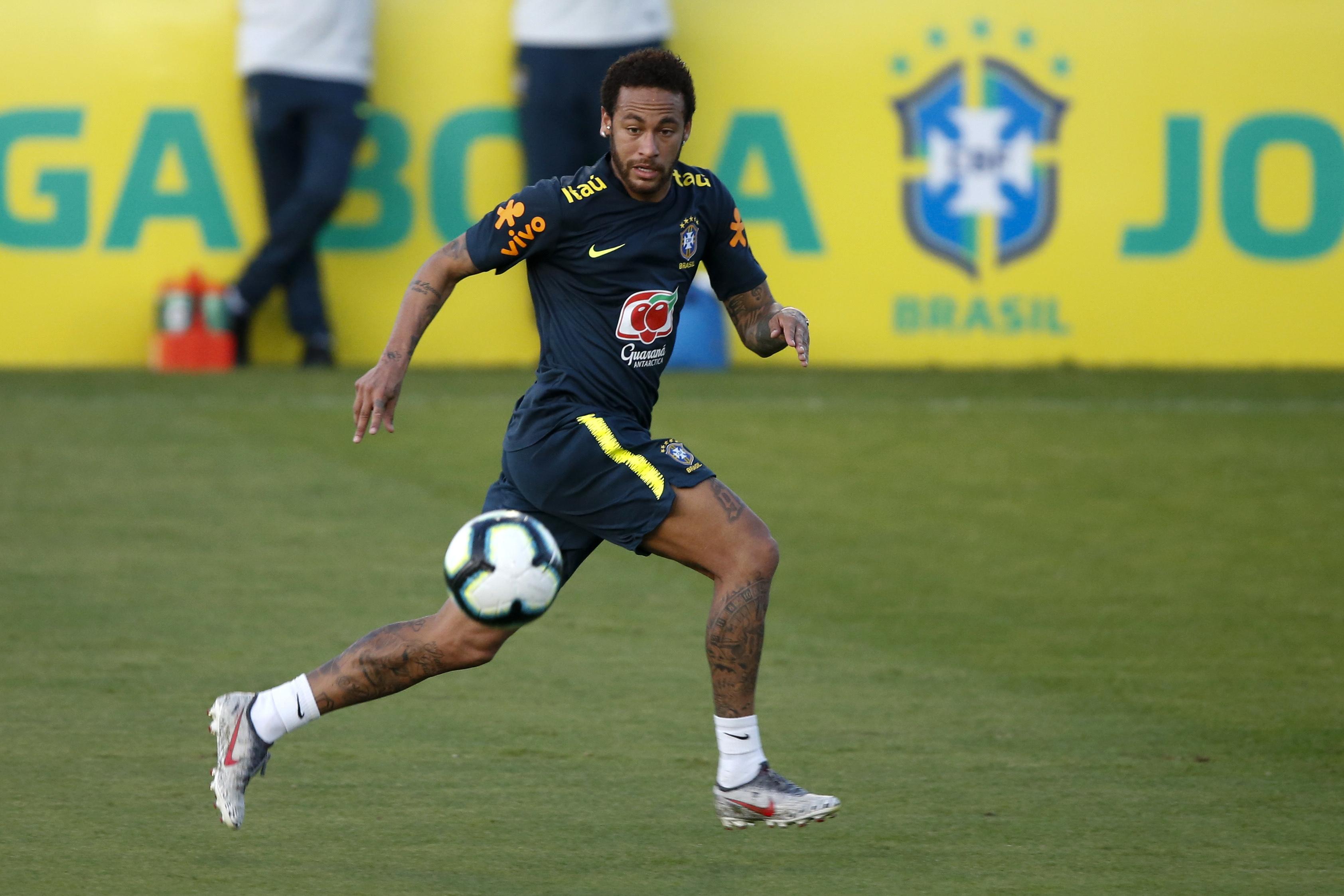 Brazilian police document says woman accuses Neymar of rape
