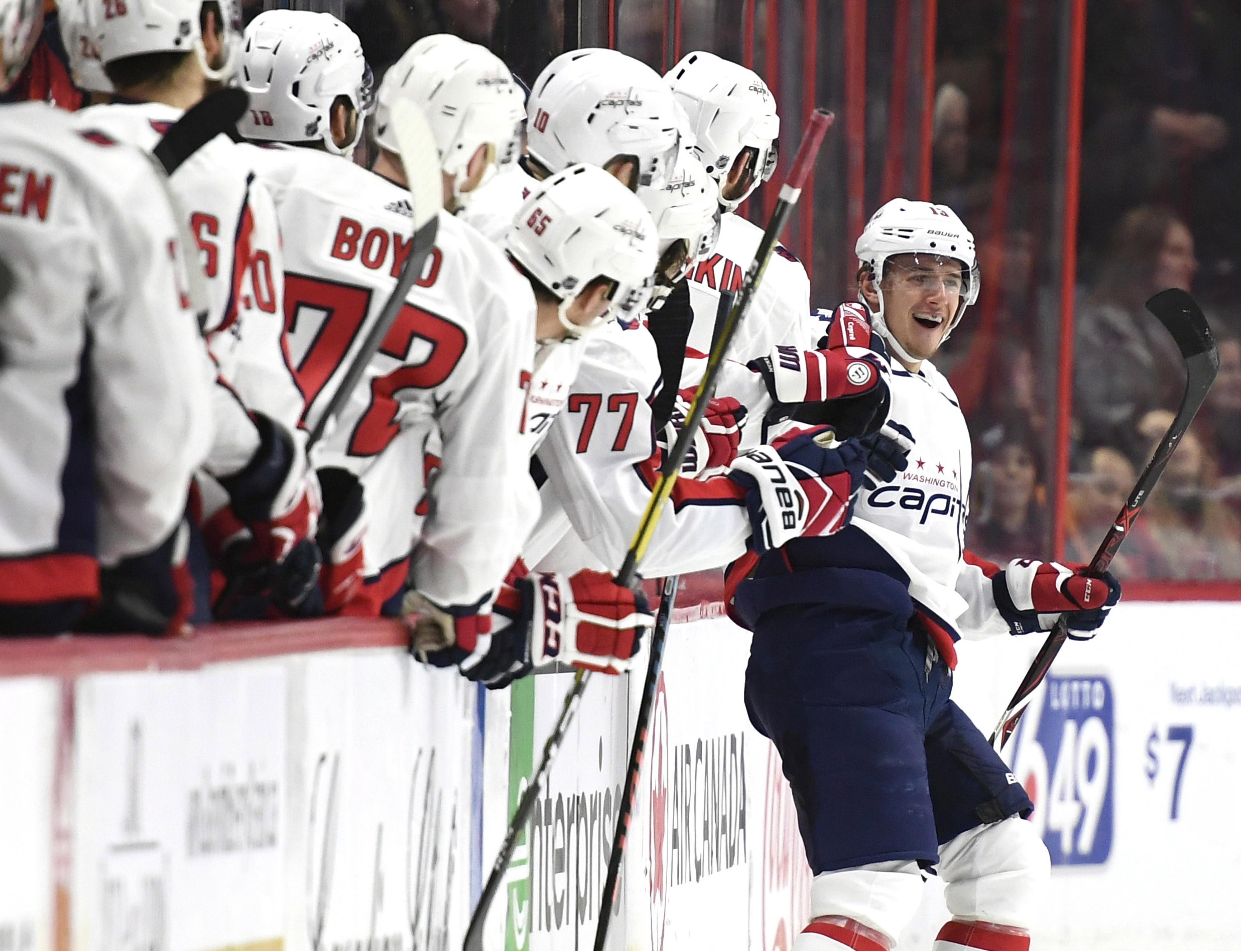 Copley gets first shutout, Capitals beat Senators 4-0