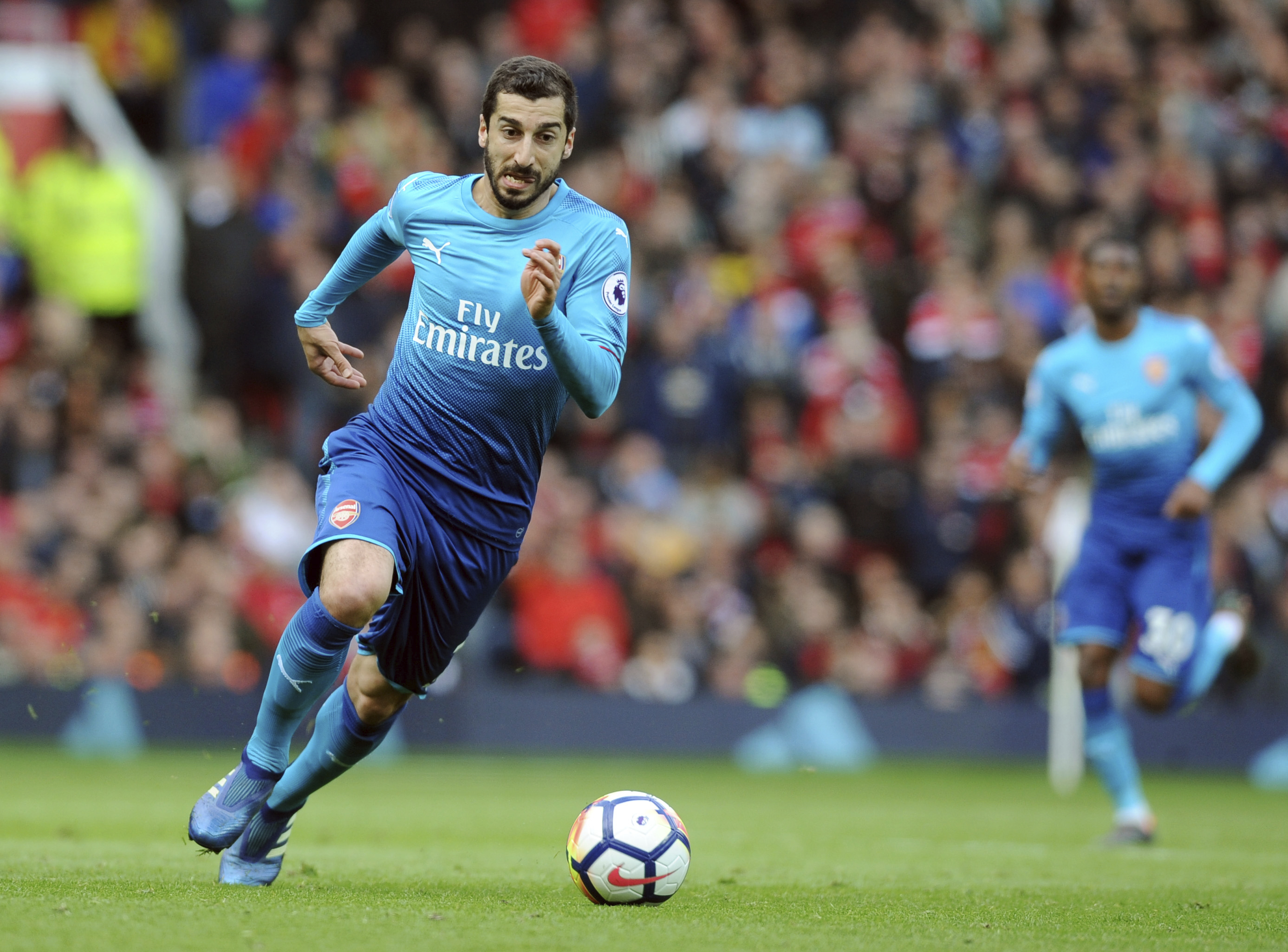 Arsenal playmaker Mkhitaryan sidelined for at least 6 weeks