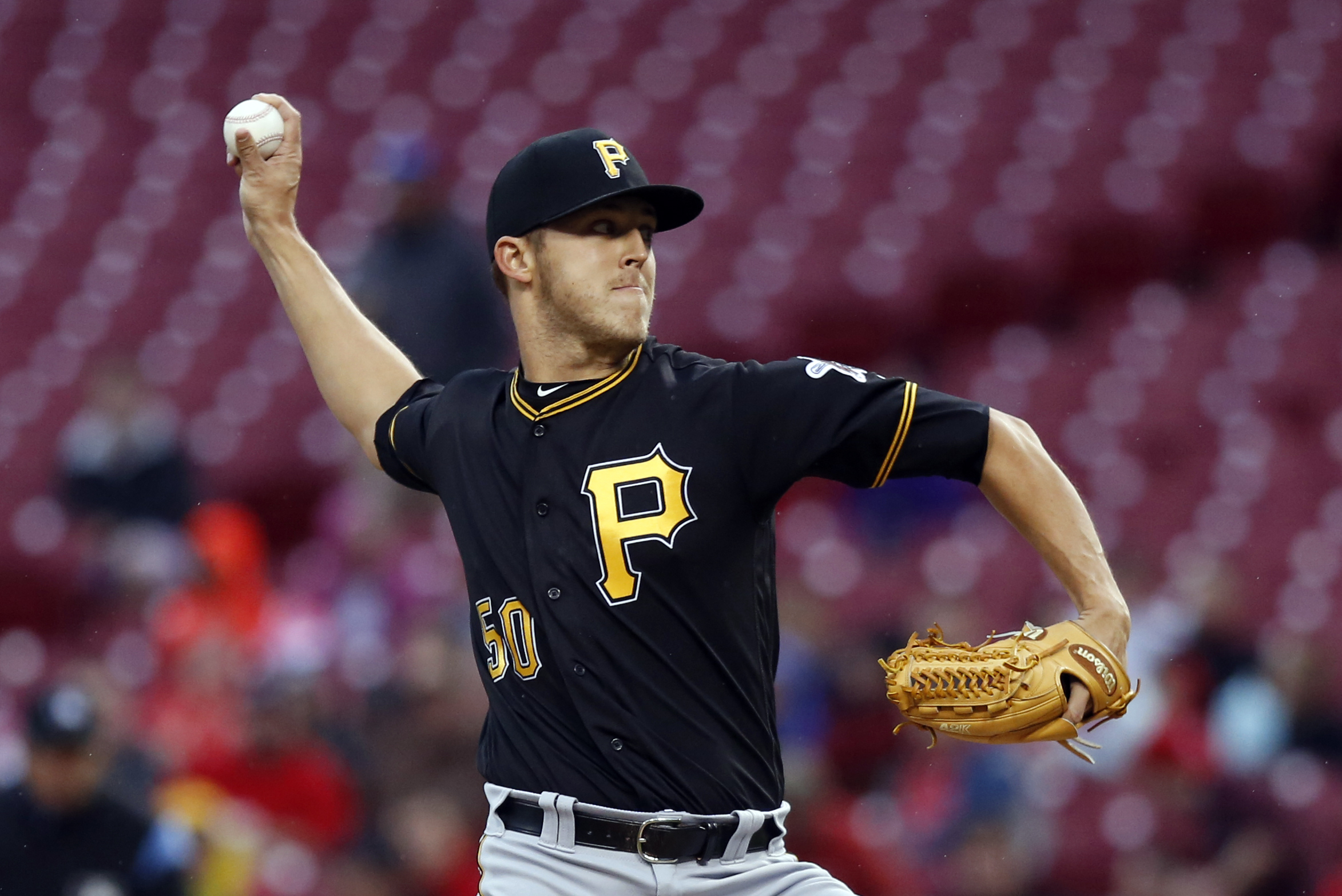 Pittsburgh Pirates starting pitcher Jameson Taillon on the DL