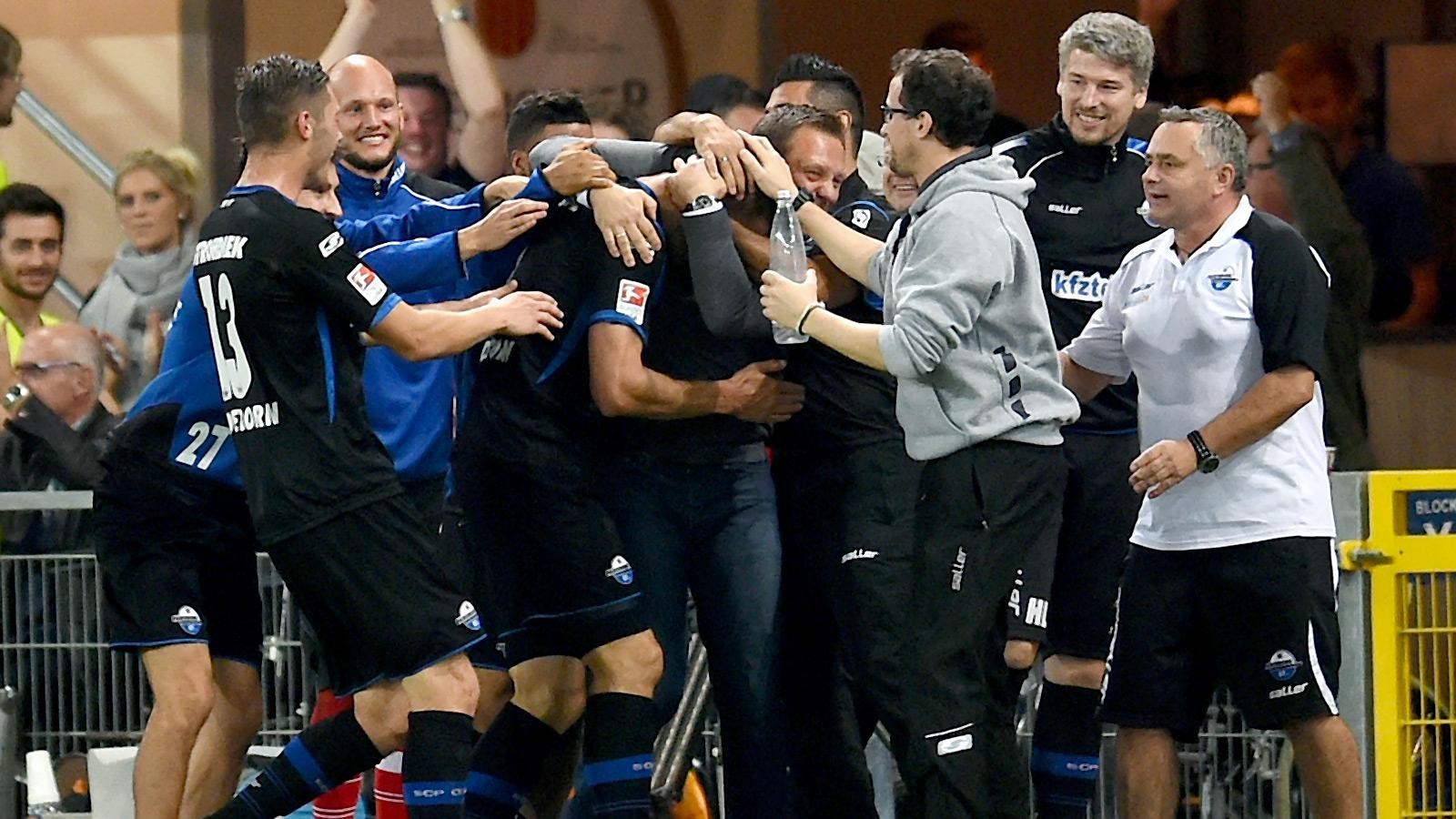 Paderborn are still scoring ridiculous goals in the Bundesliga