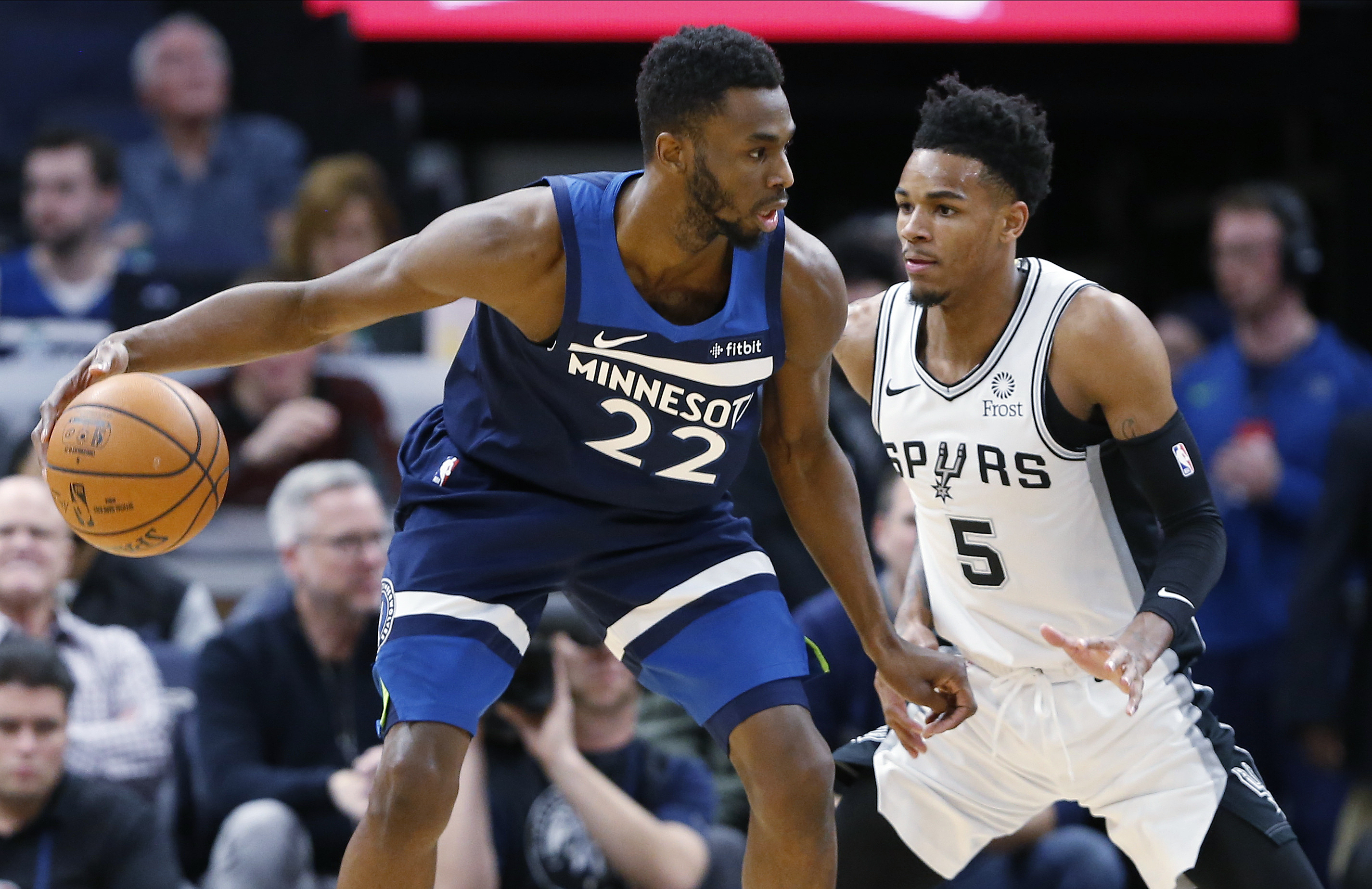 Wiggins leads Wolves with 30 points in 129-114 win vs. Spurs