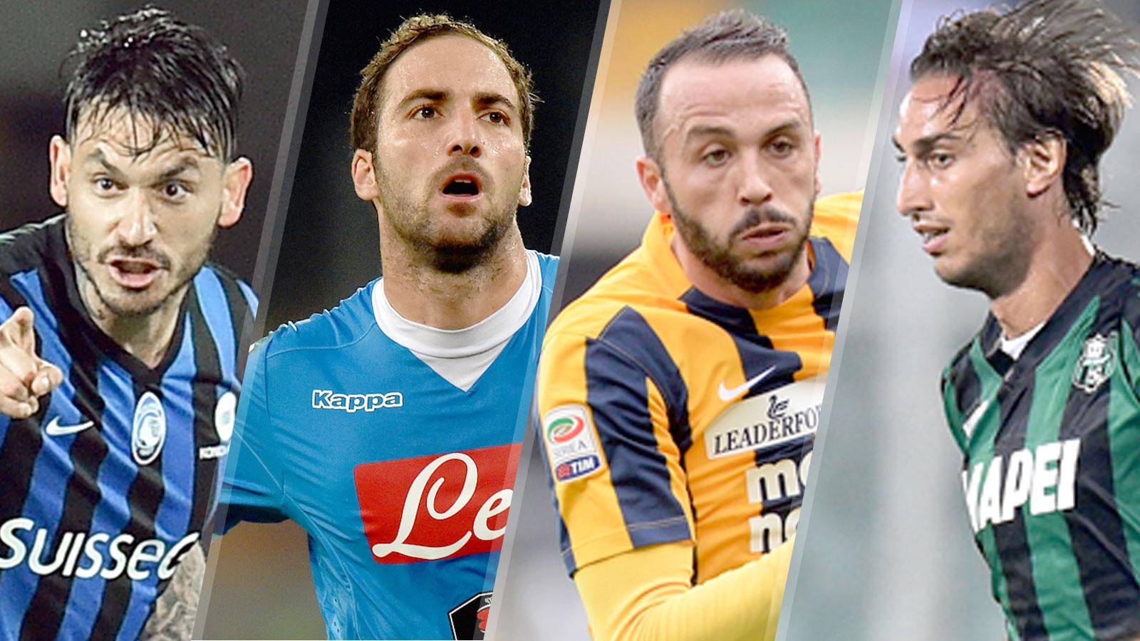 Live scores, updates: Atalanta, Verona, Napoli, Sassuolo in action