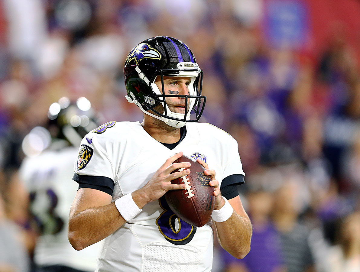 Invigorated Schaub readies for first start with Ravens