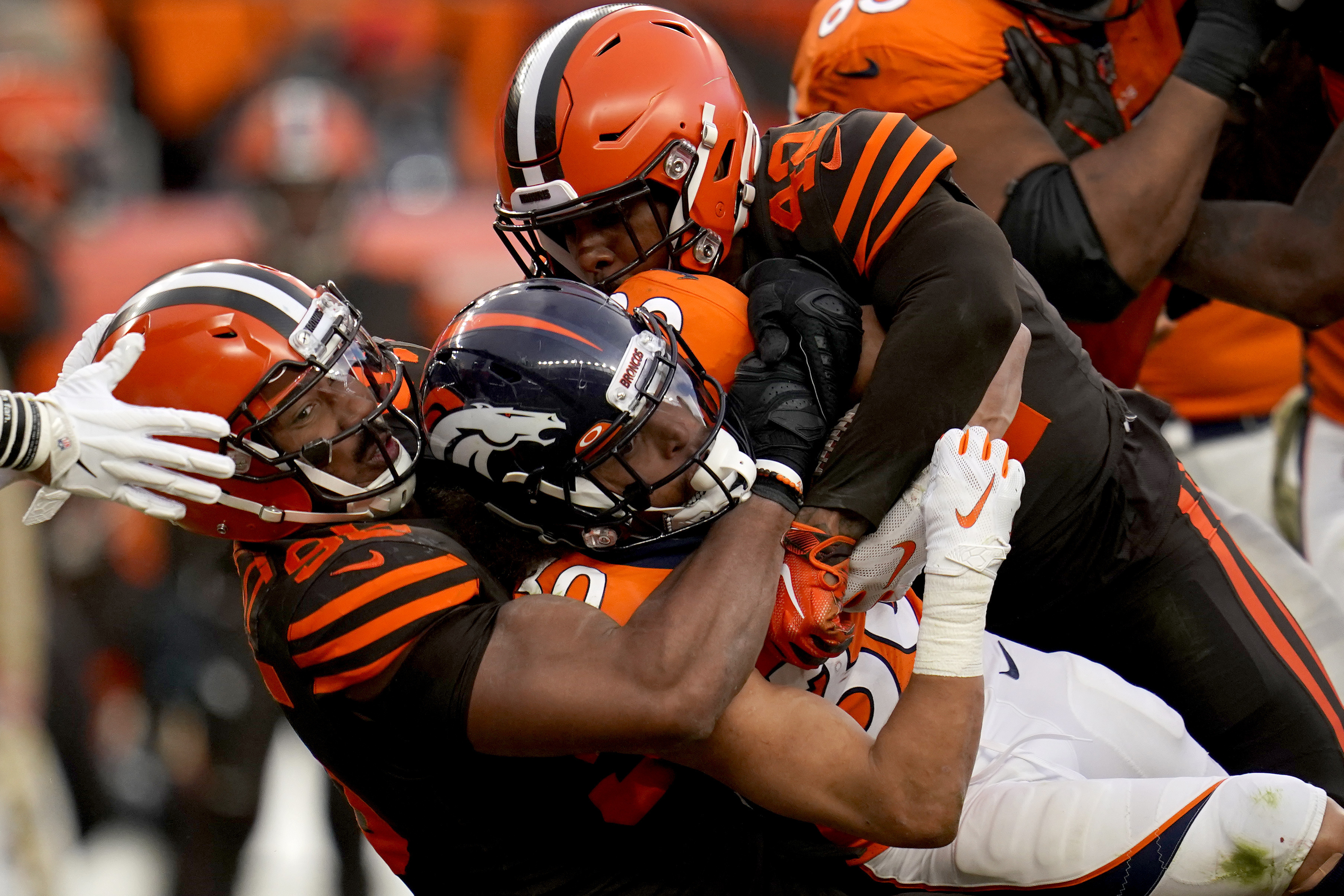 Browns' Jarvis Landry: Garrett inquiry by league unfair