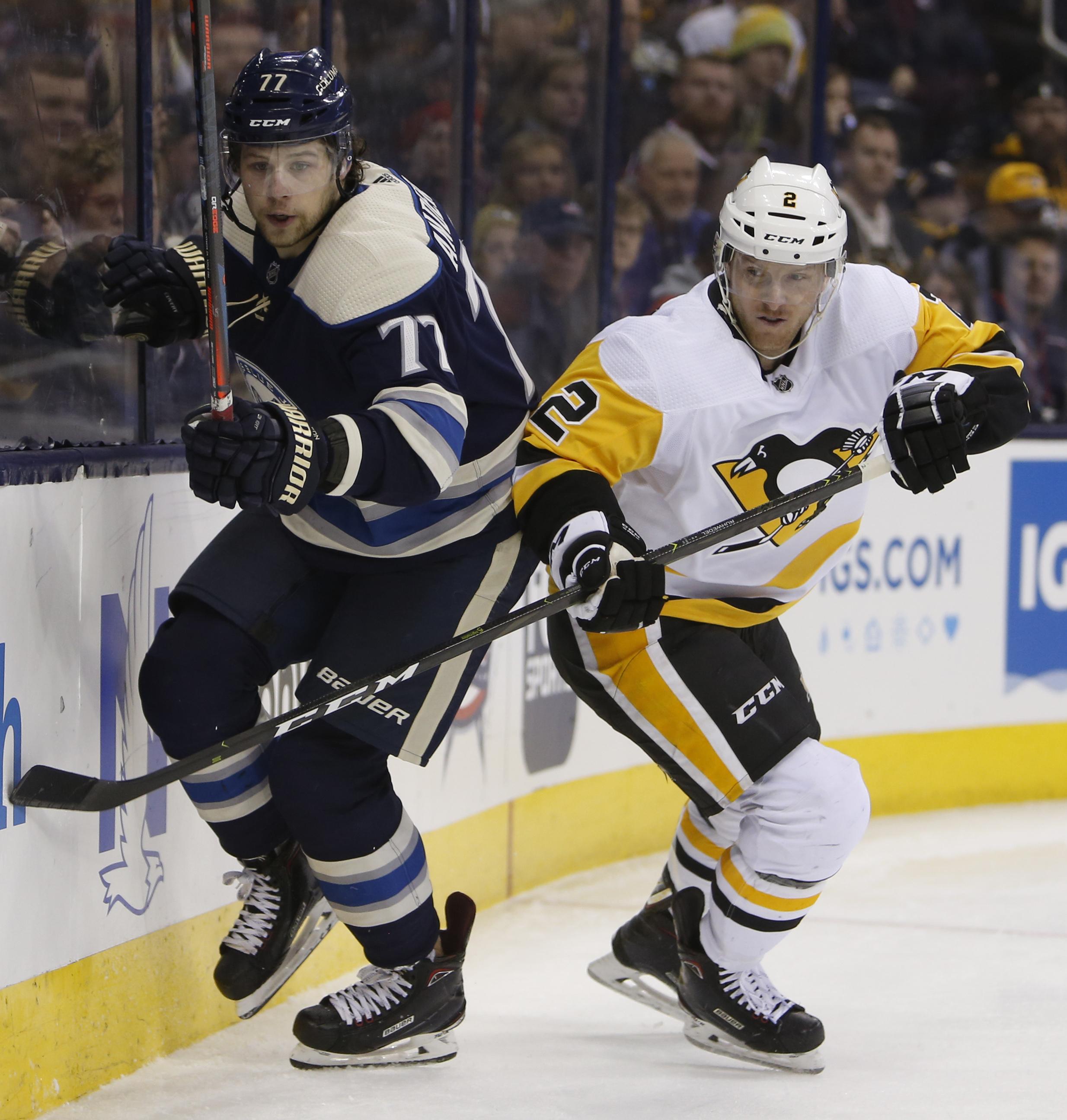 Penguins forward Rust, defenseman Ruhwedel out 'longer term'