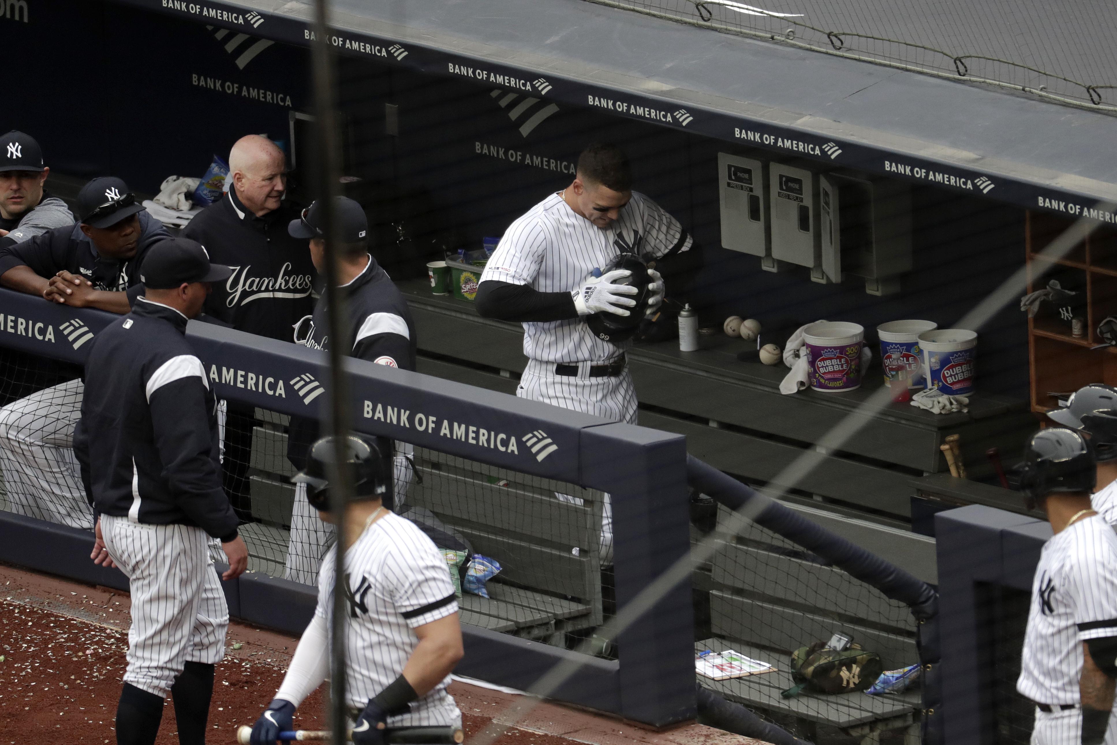 LEADING OFF: Yanks star Judge hurt, Cubs ace Lester close