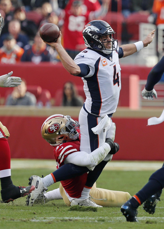 Broncos QB Case Keenum agrees to take more chances