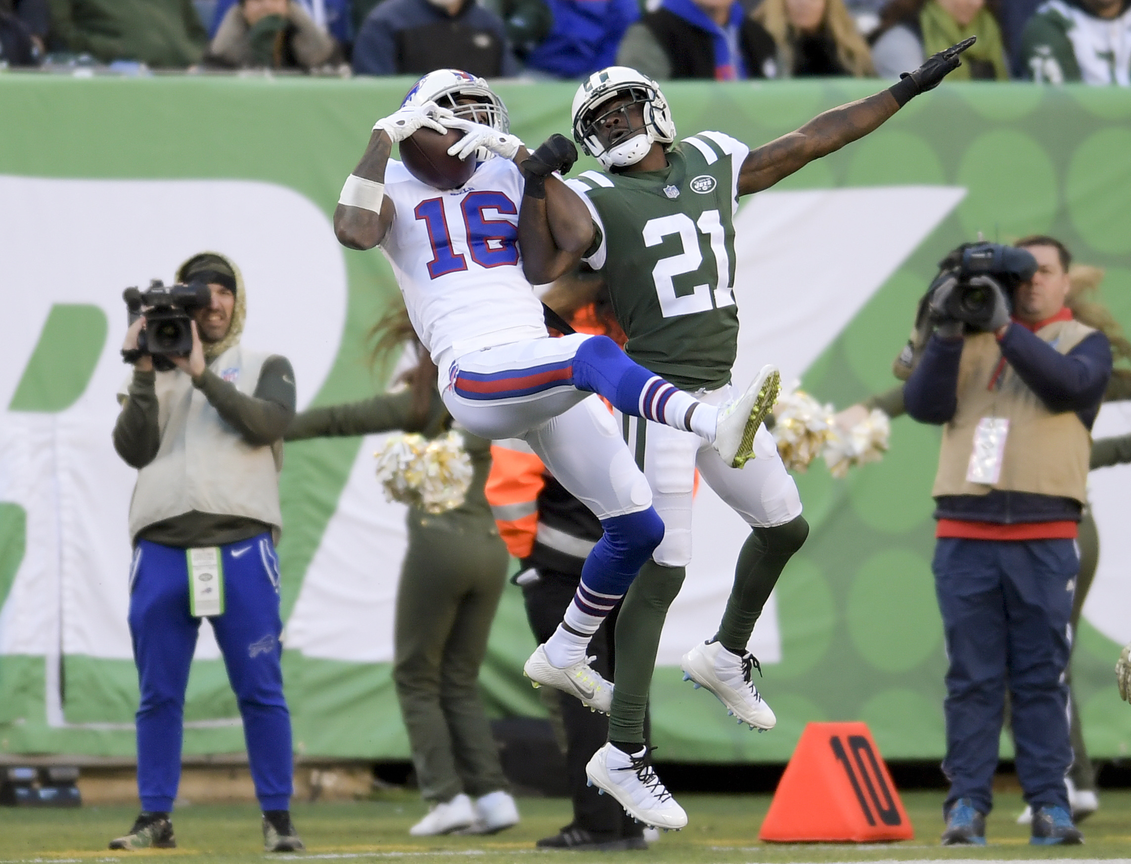 Bills' Robert Foster starts to catch on given 2nd chance